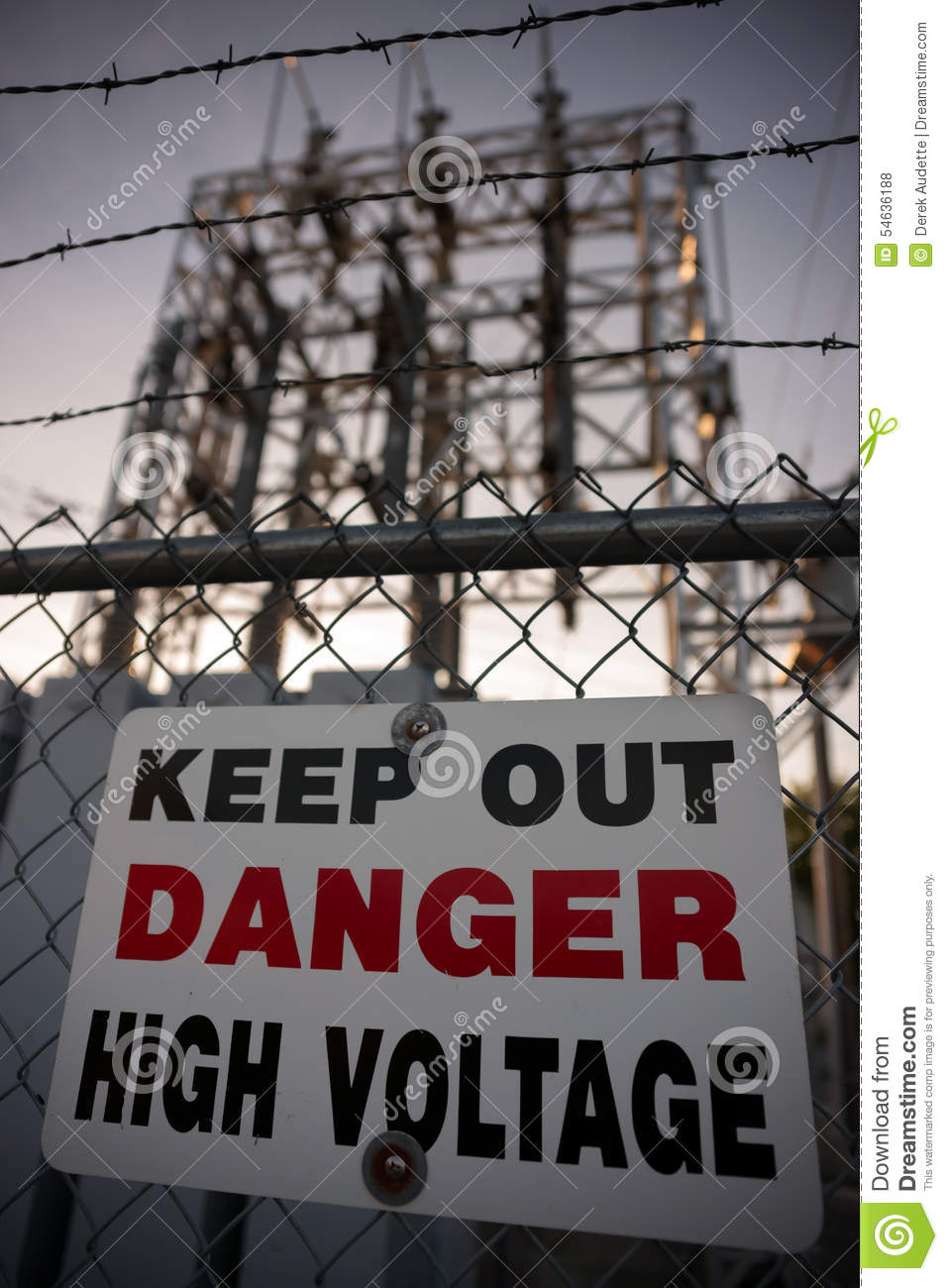 High Voltage Danger Sign Cartoon Vector Cartoondealer