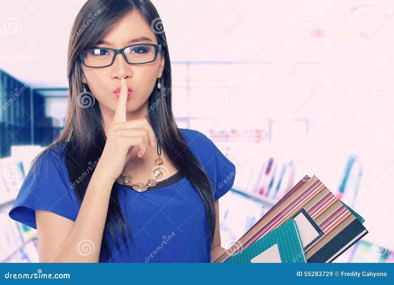 Keep Quiet Please Stock Photo Image 55283729