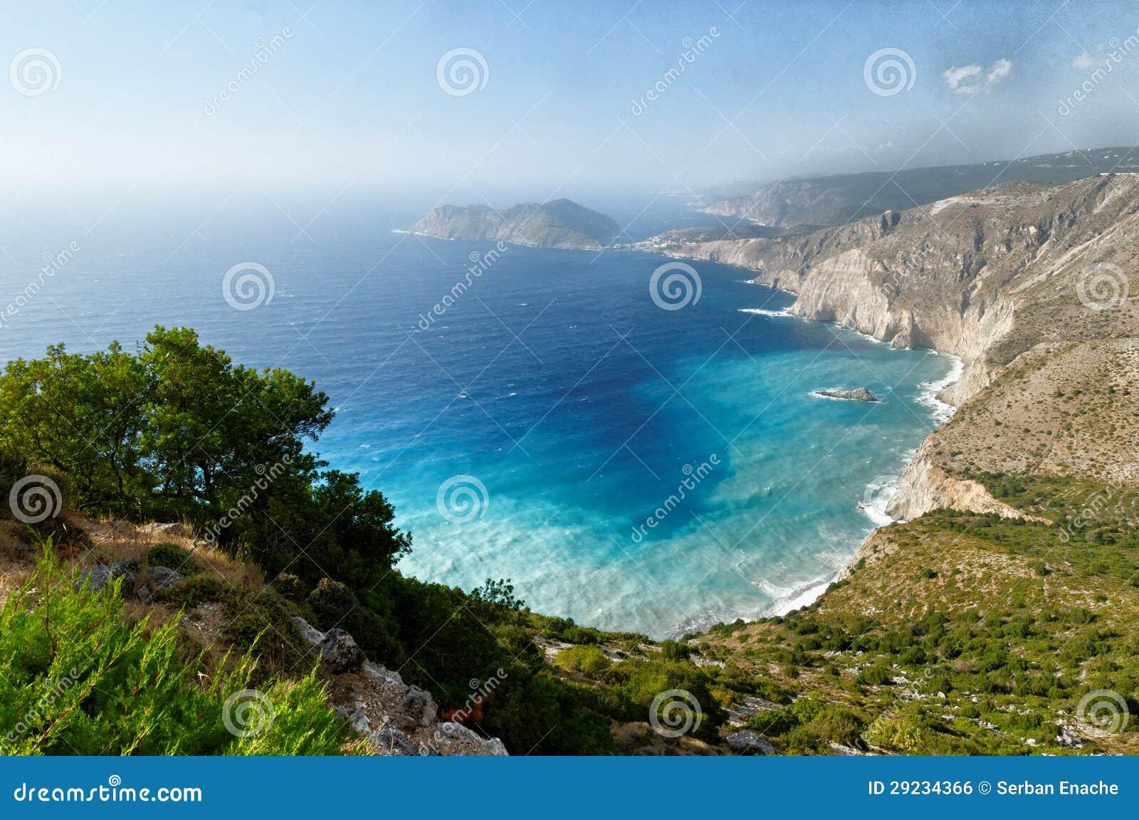 Download Kefalonia foto de stock. Imagem de cena, scenic, europeu - 29234366