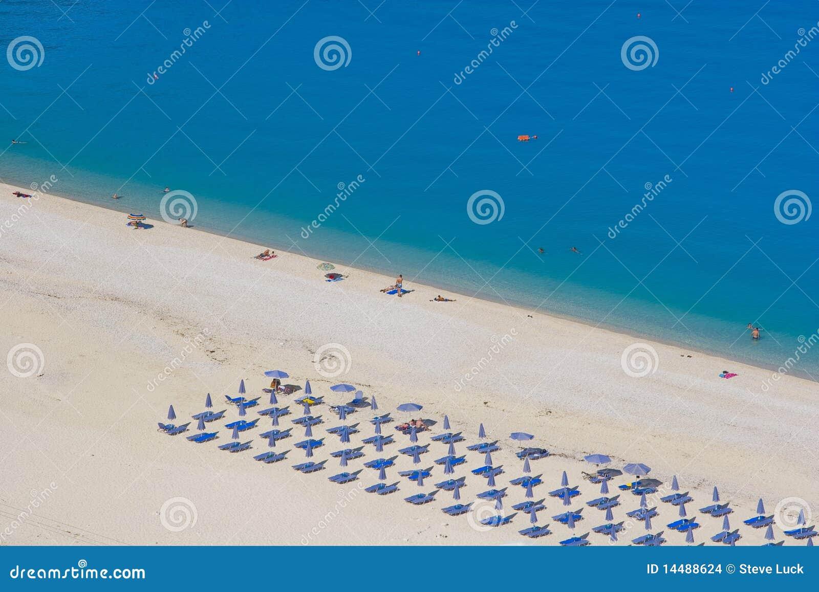 Kefalonia plażowi myrtos