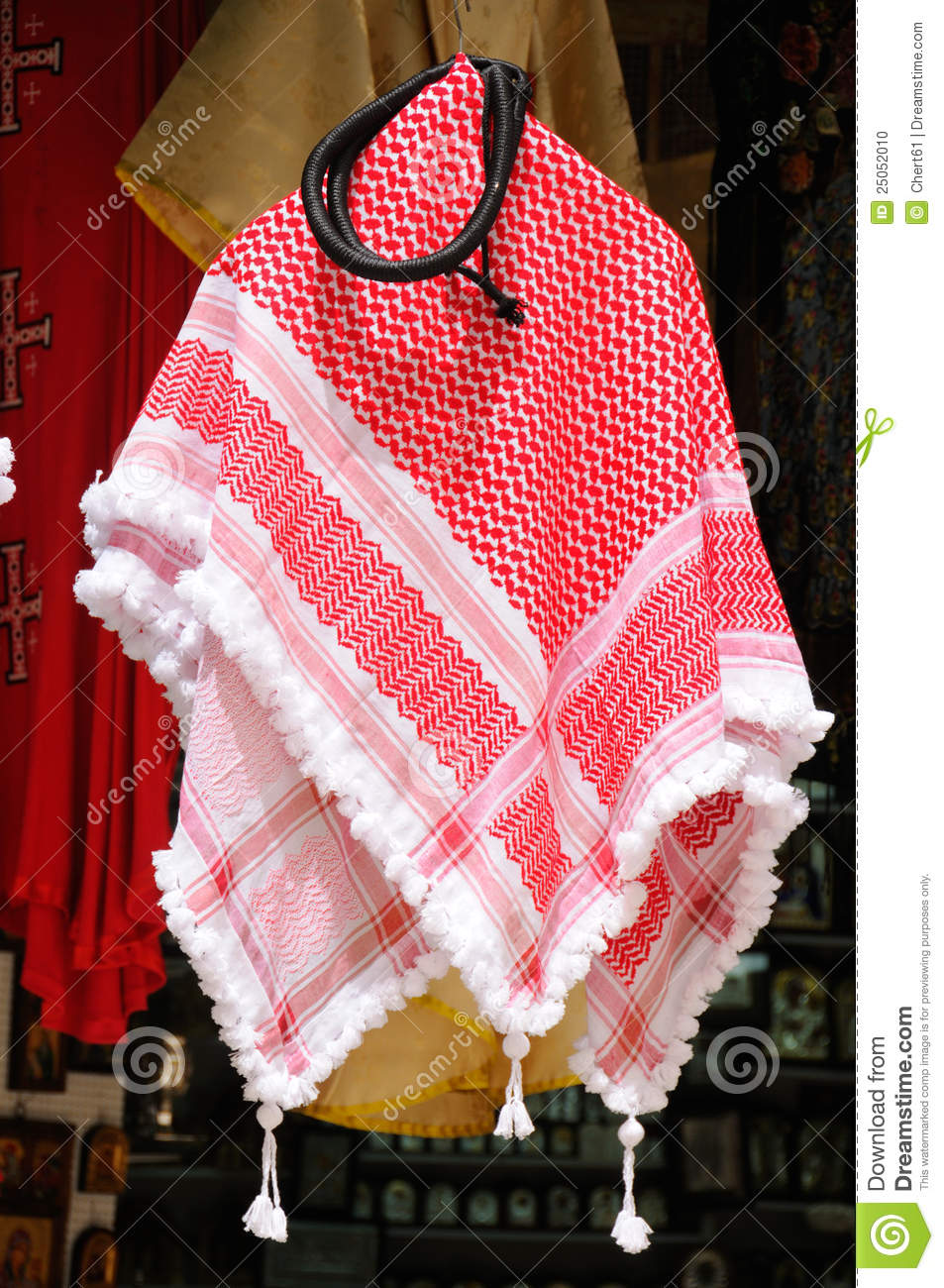Keffiyeh Stock Photo Image Of Handicraft Fabric