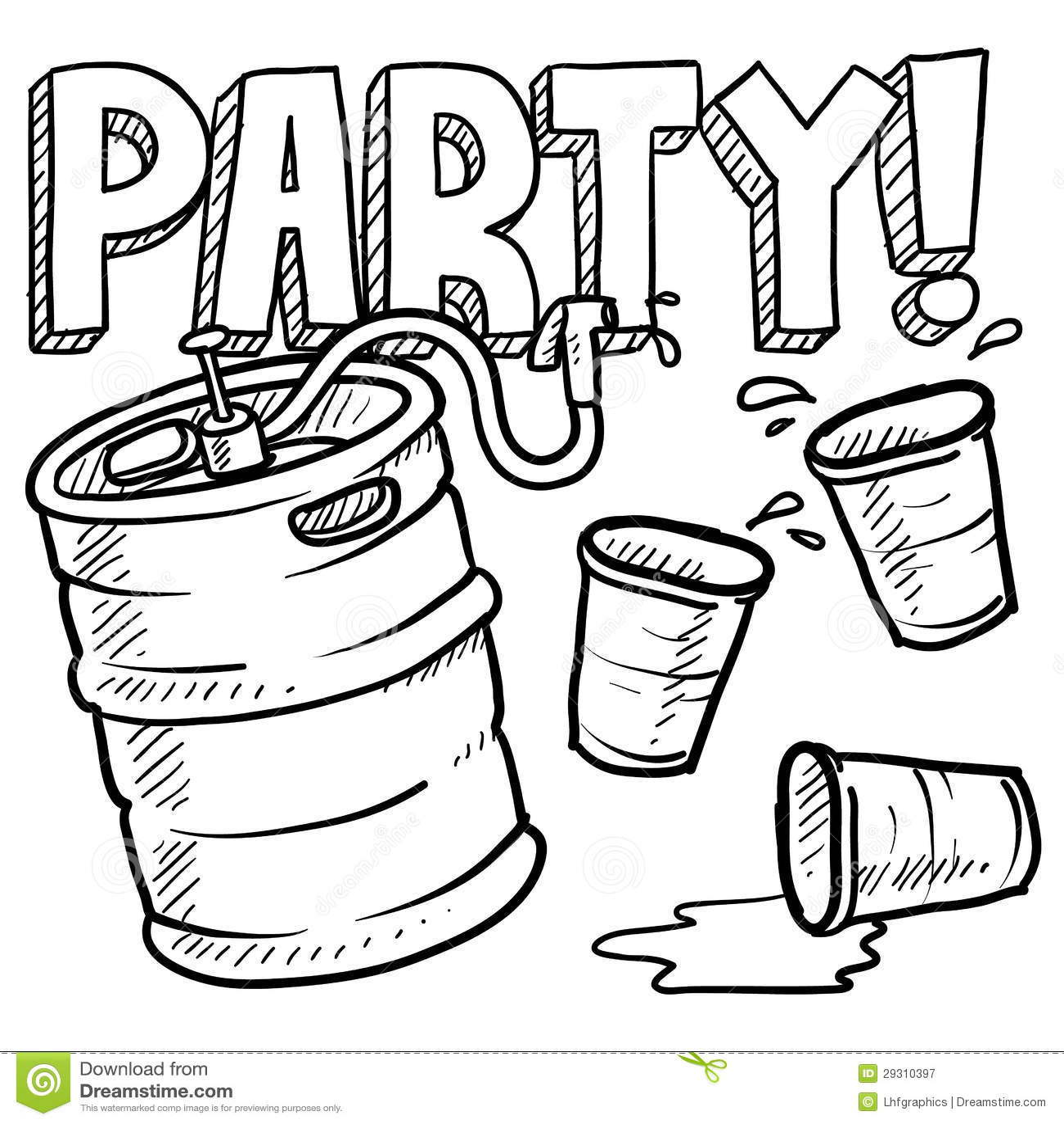 Frat Party Invite Image Collections Invitations Ideas Keg Monicamarmolfo