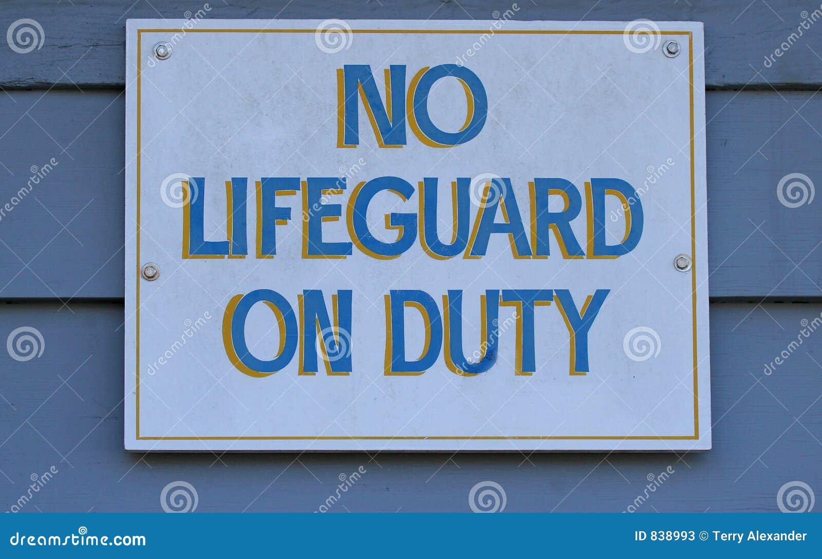 Kein Leibwächter im Dienst