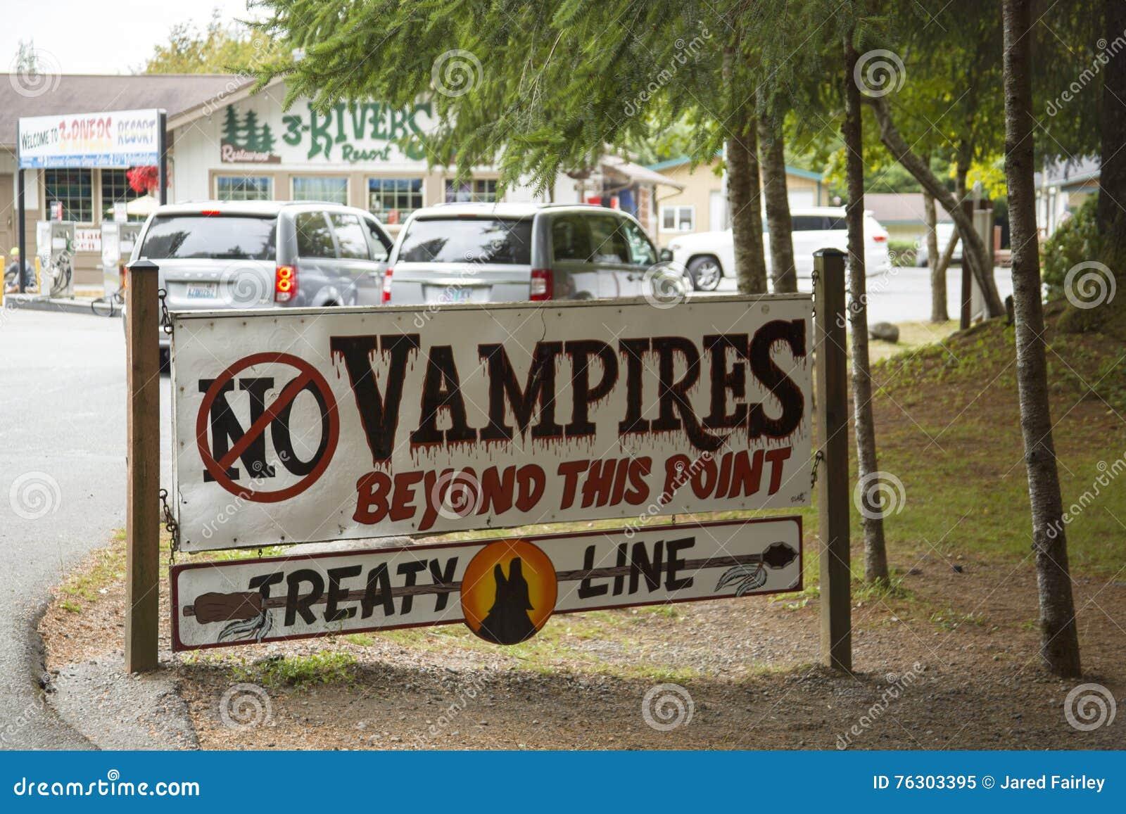 Kein Vampirs-Zeichen