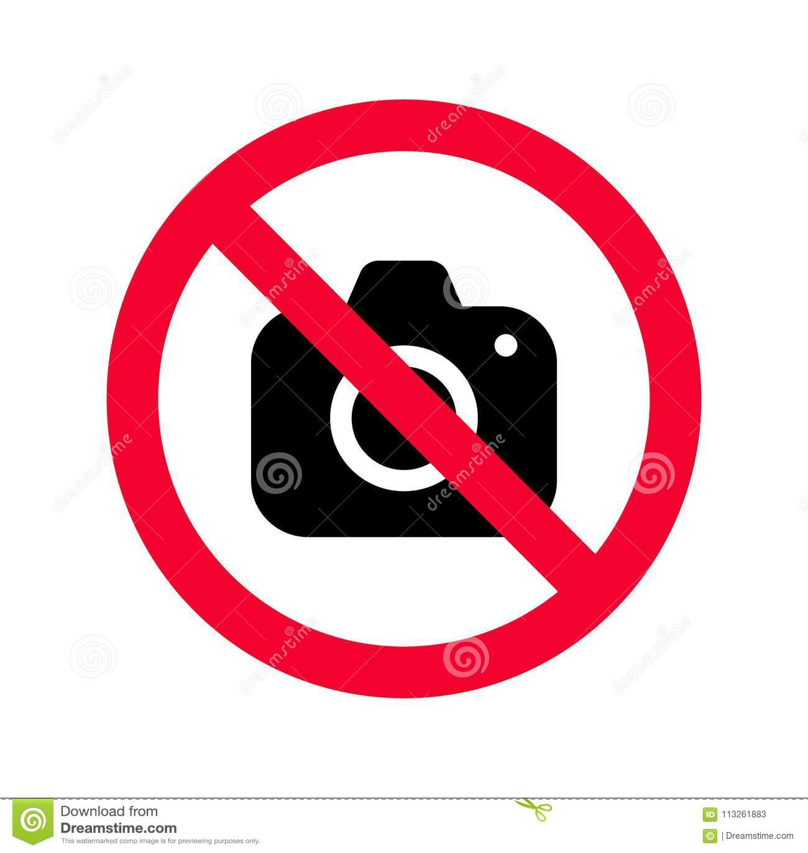 Klar, Keine Kameras