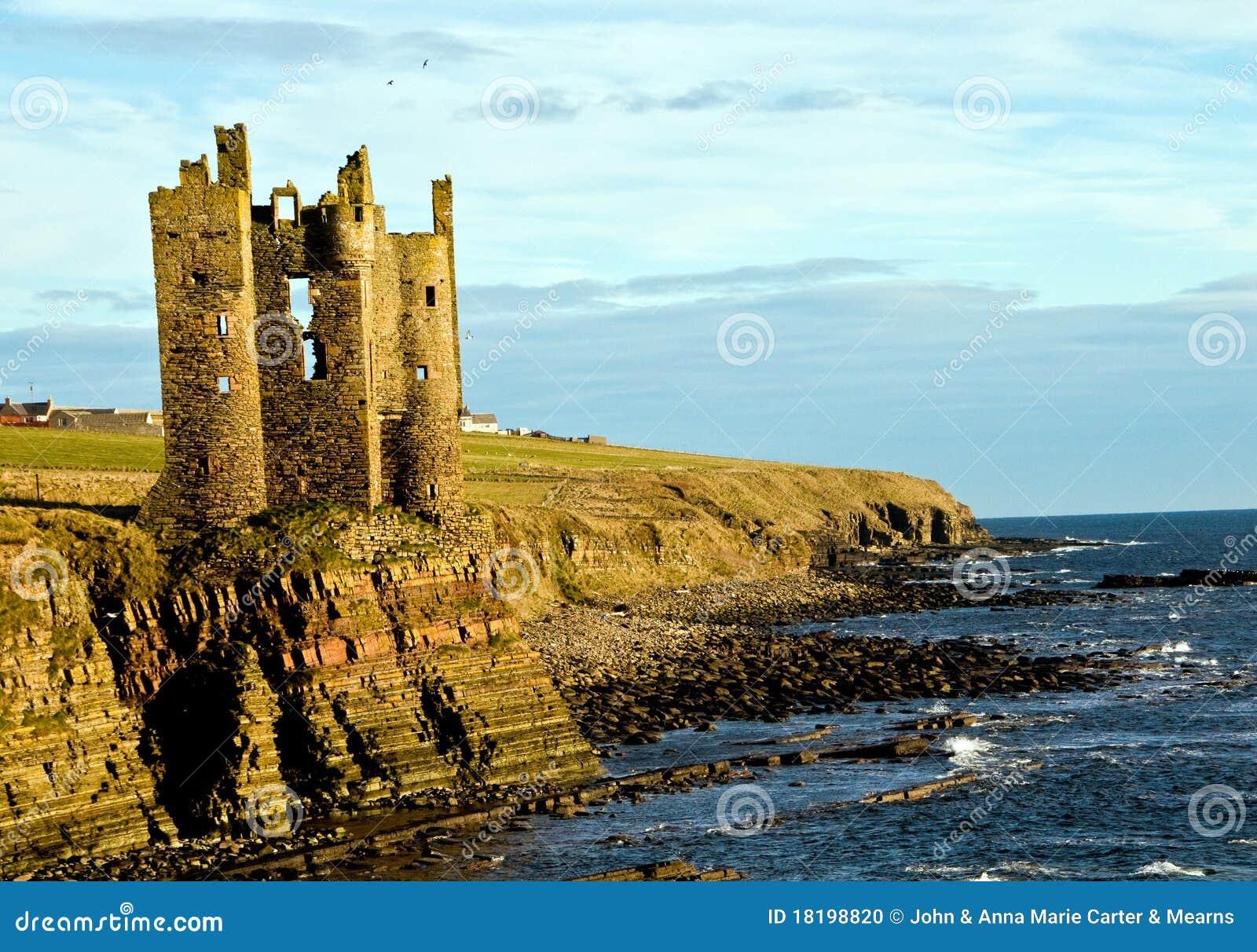 Keiss Castle Ruins