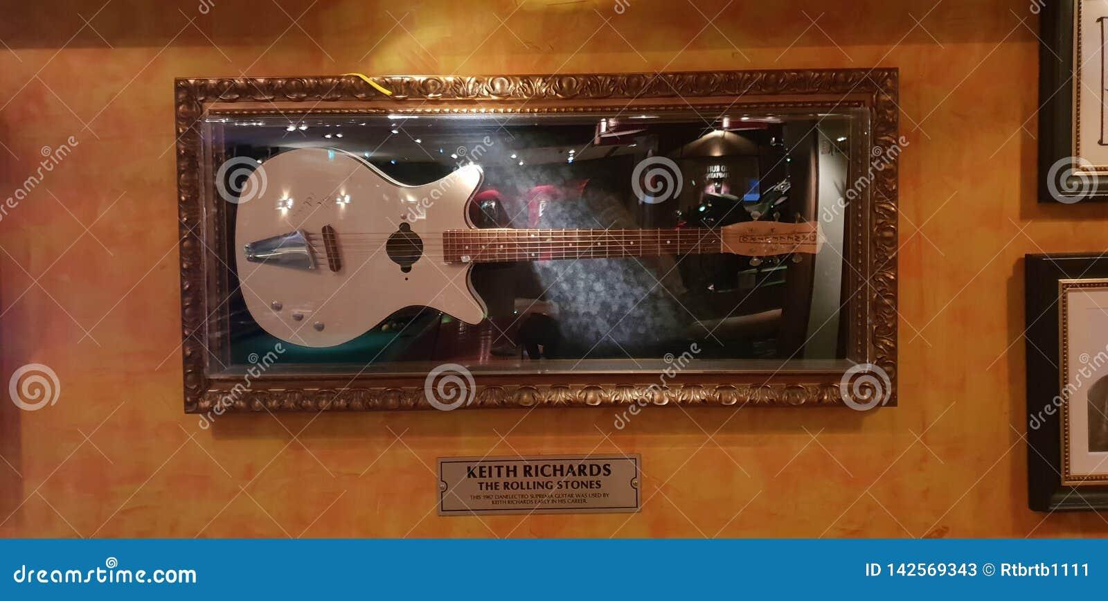 Keith Richards gitarr