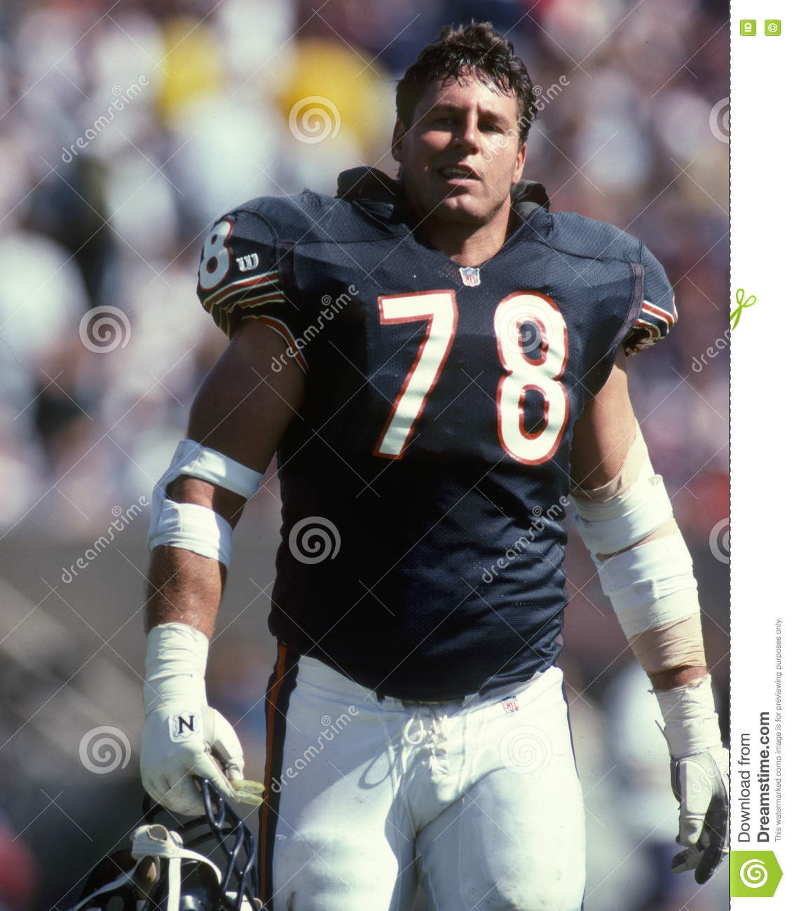 Keith Van Horne Chicago Bears Editorial graphy Image