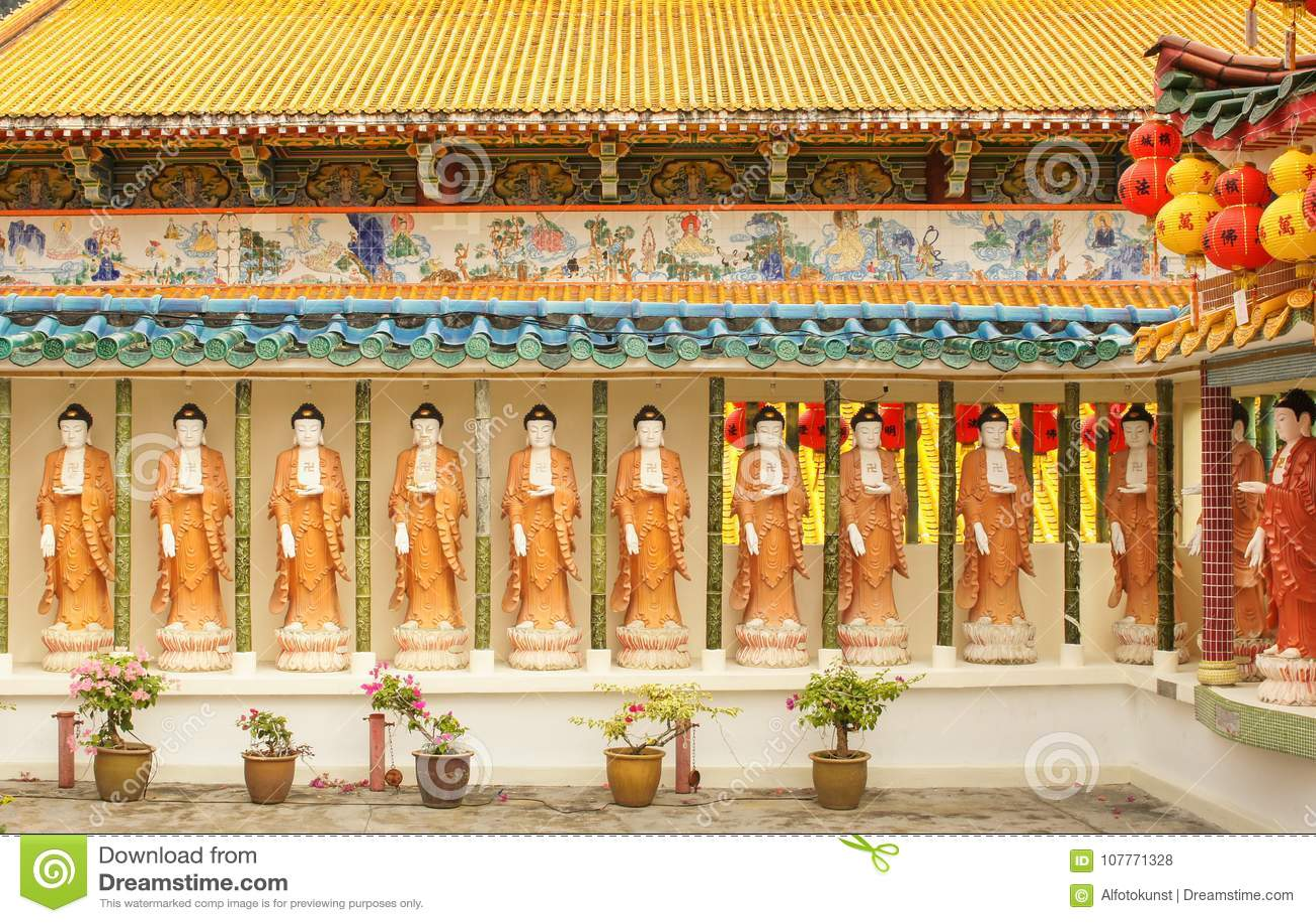 Kek-Lok-si tempel, luft Hitam, Penang, Malaysia