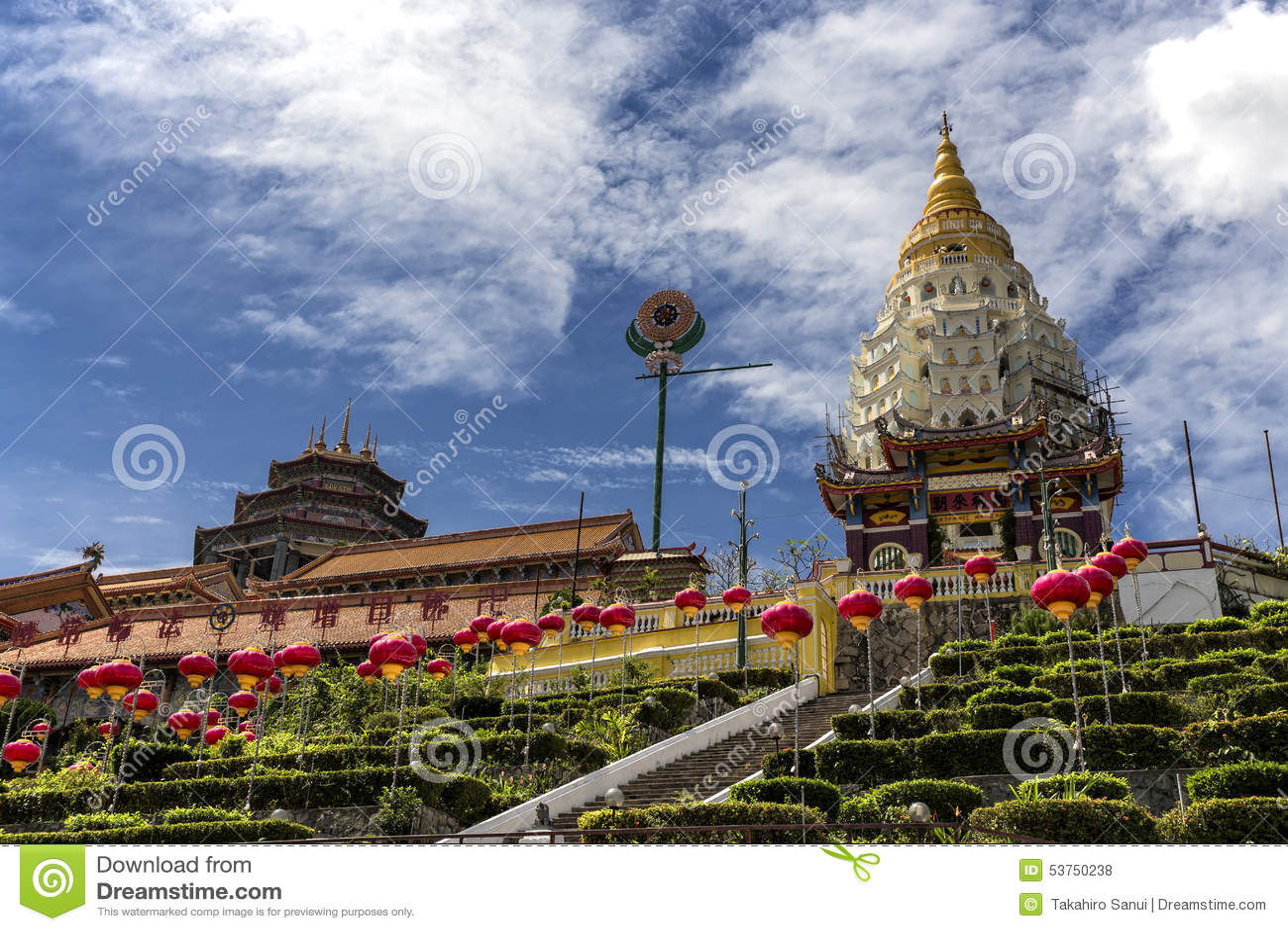 Kek Lok Si, tempio buddista a Penang Malesia
