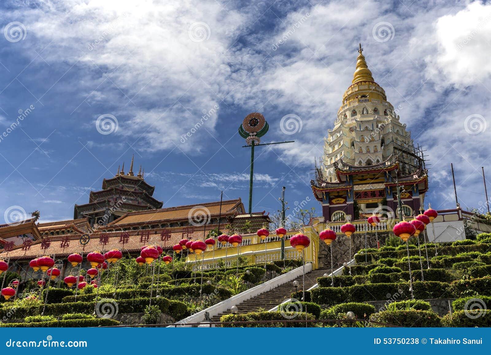 Kek Lok Si, temple bouddhiste à Penang Malaisie