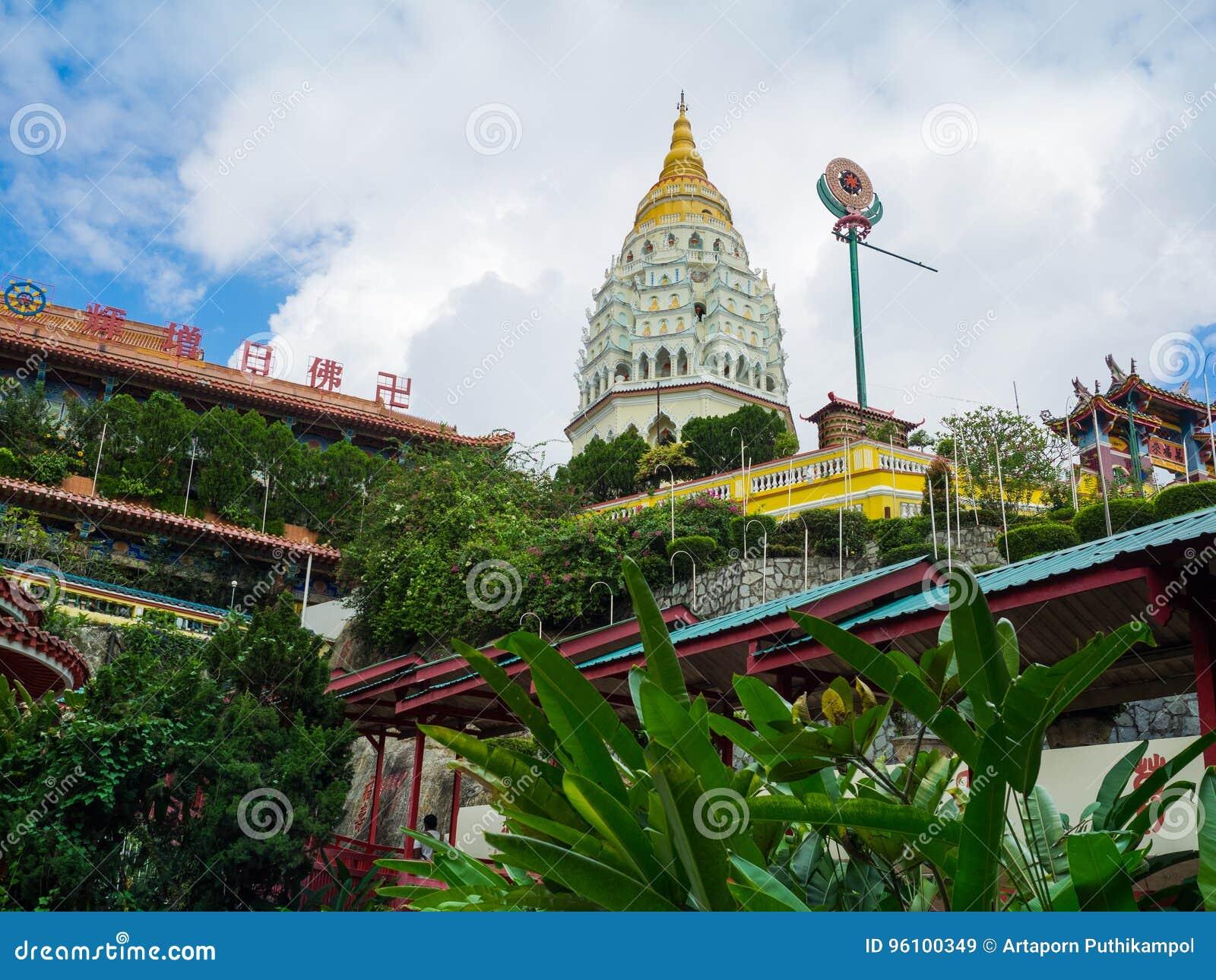Kek Lok Si Temple en Georgetown, Penang, Malasia