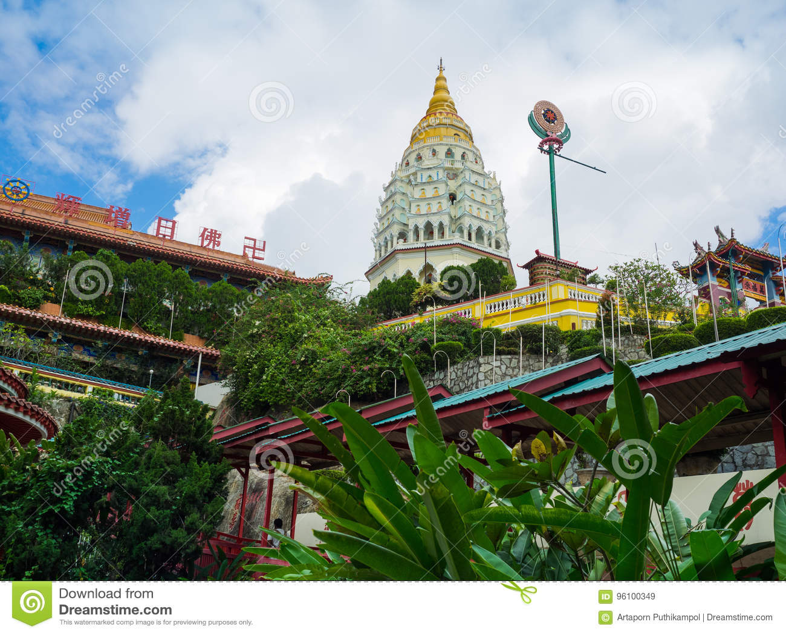 Kek Lok Si Temple i Georgetown, Penang, Malaysia