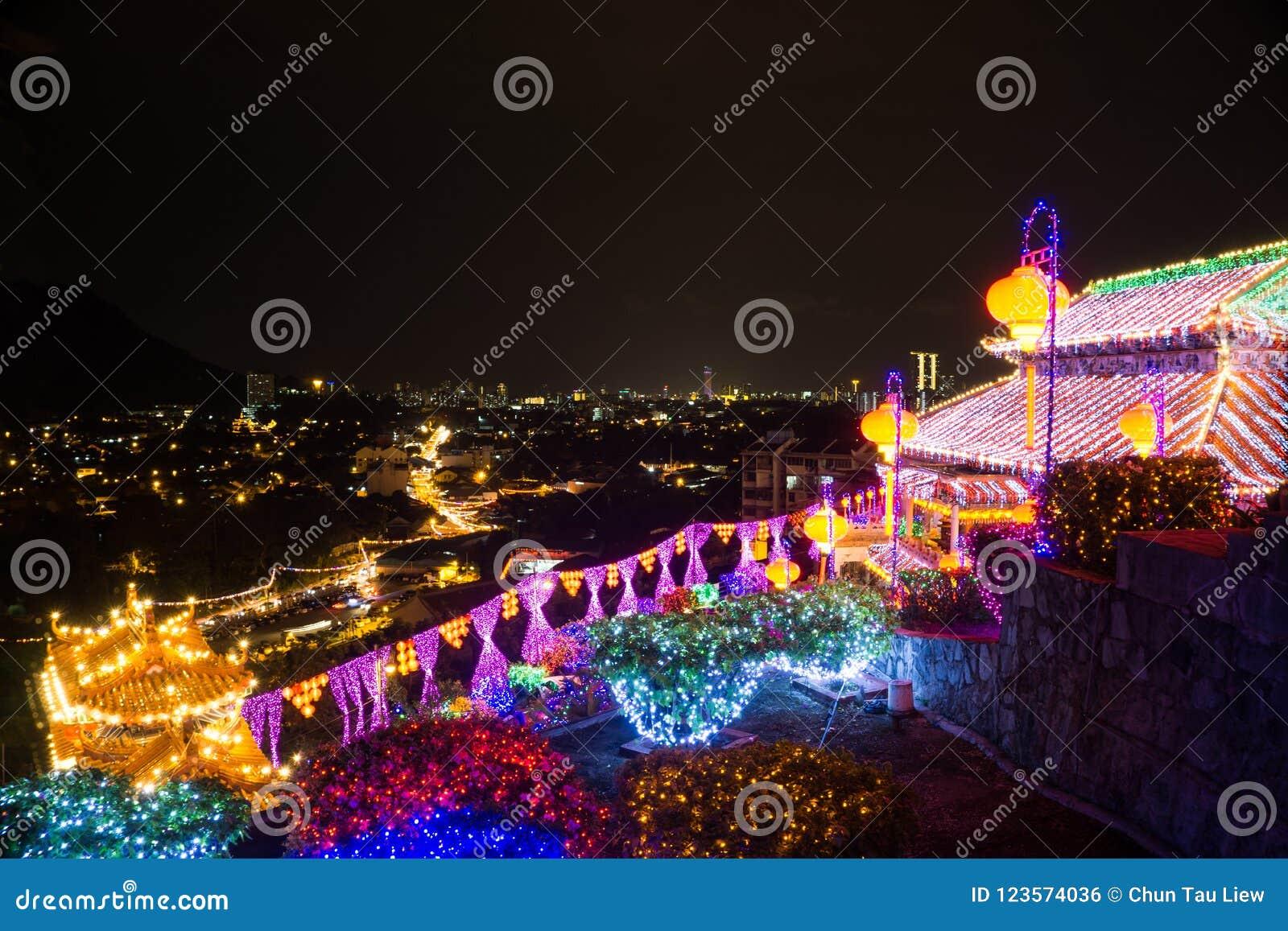 Kek Lok Si Temple, Penang ö, Malaysia
