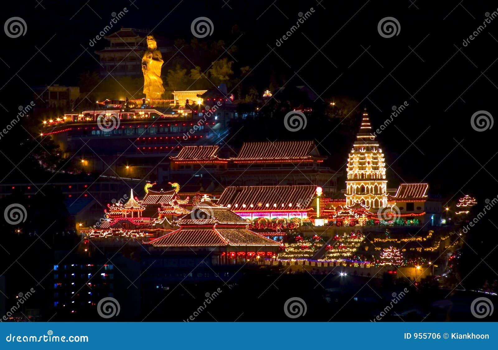 Kek loka Malaysia si Penang świątyni
