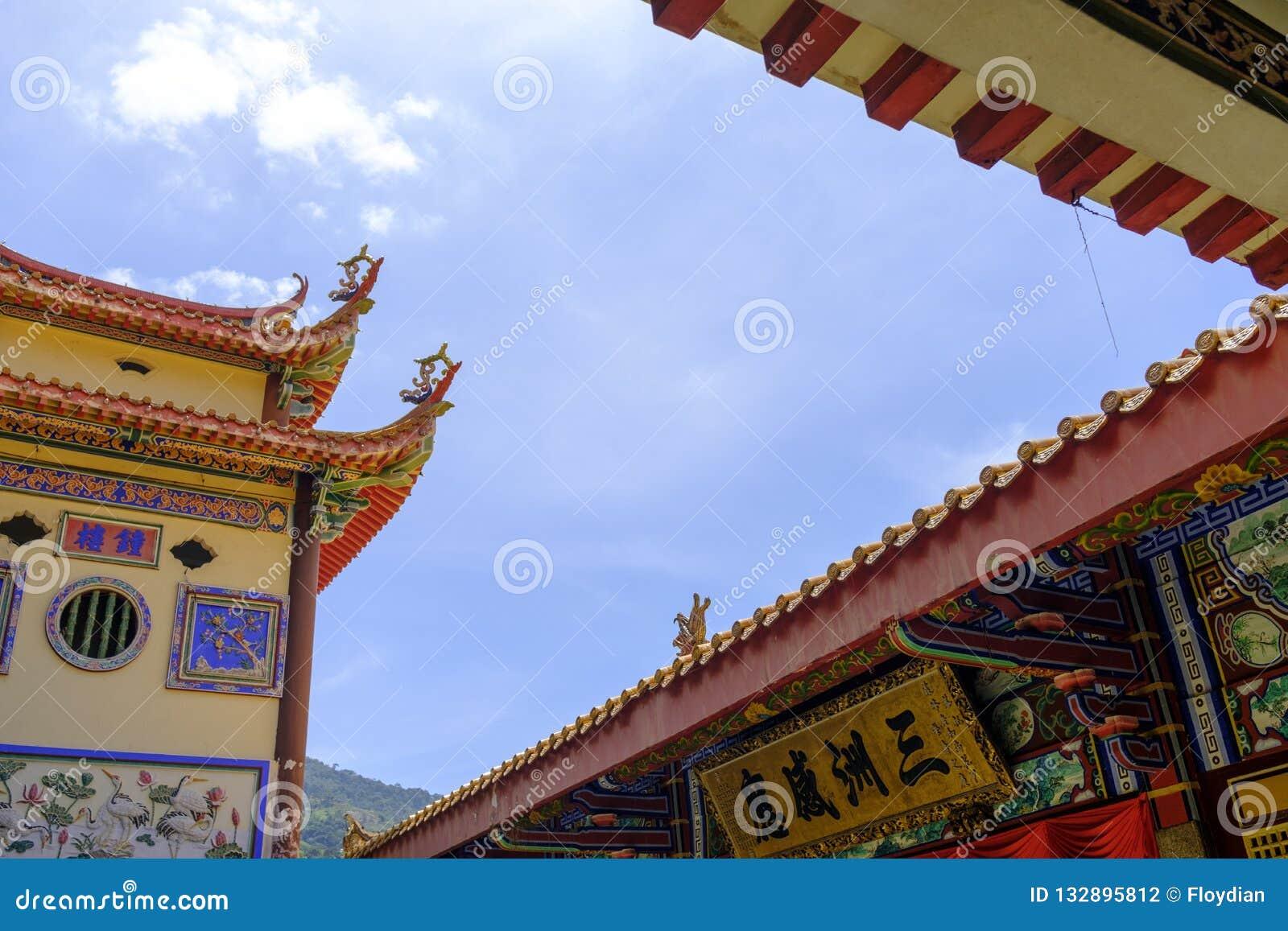 Keken Lok Si Temple Budd Penang Malaysia