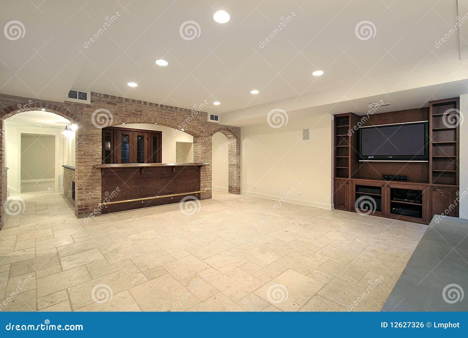 Kelderverdieping met staaf