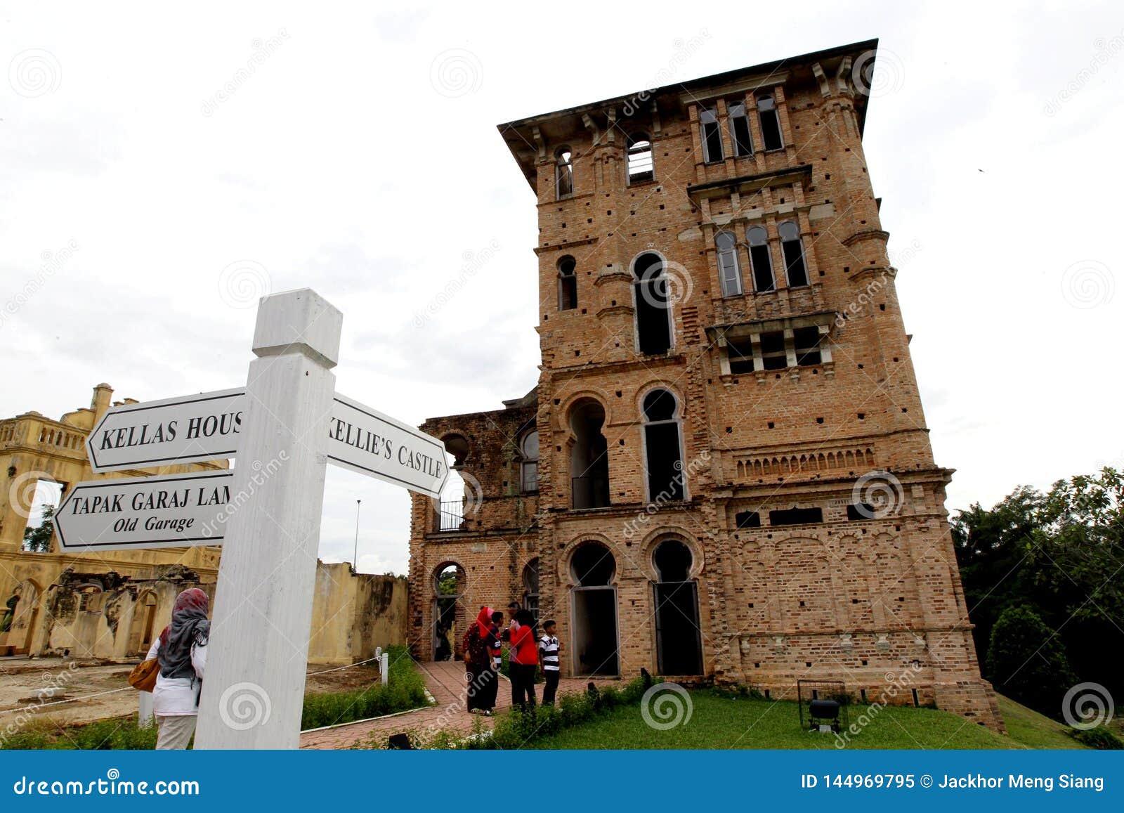 Kellie`s Castle at Batu Gajah, Perak, Malaysia