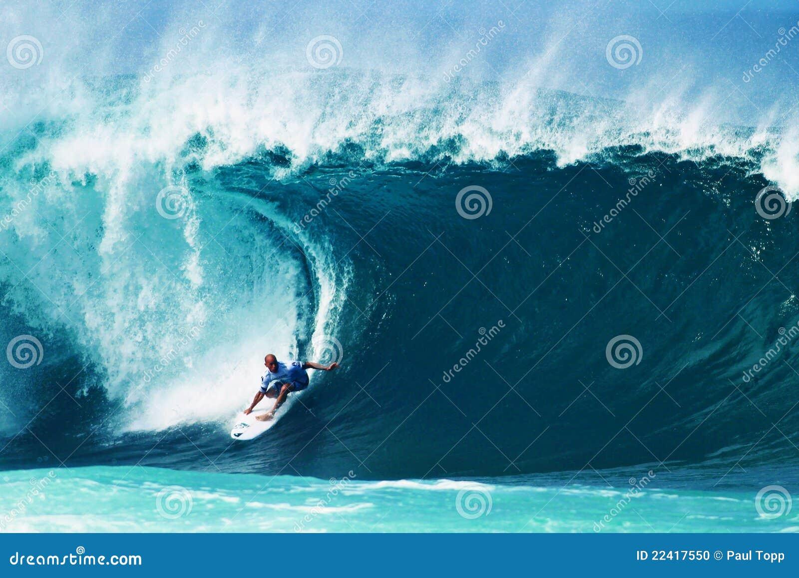 Kelly της Χαβάης slater σωληνώσεων surfe