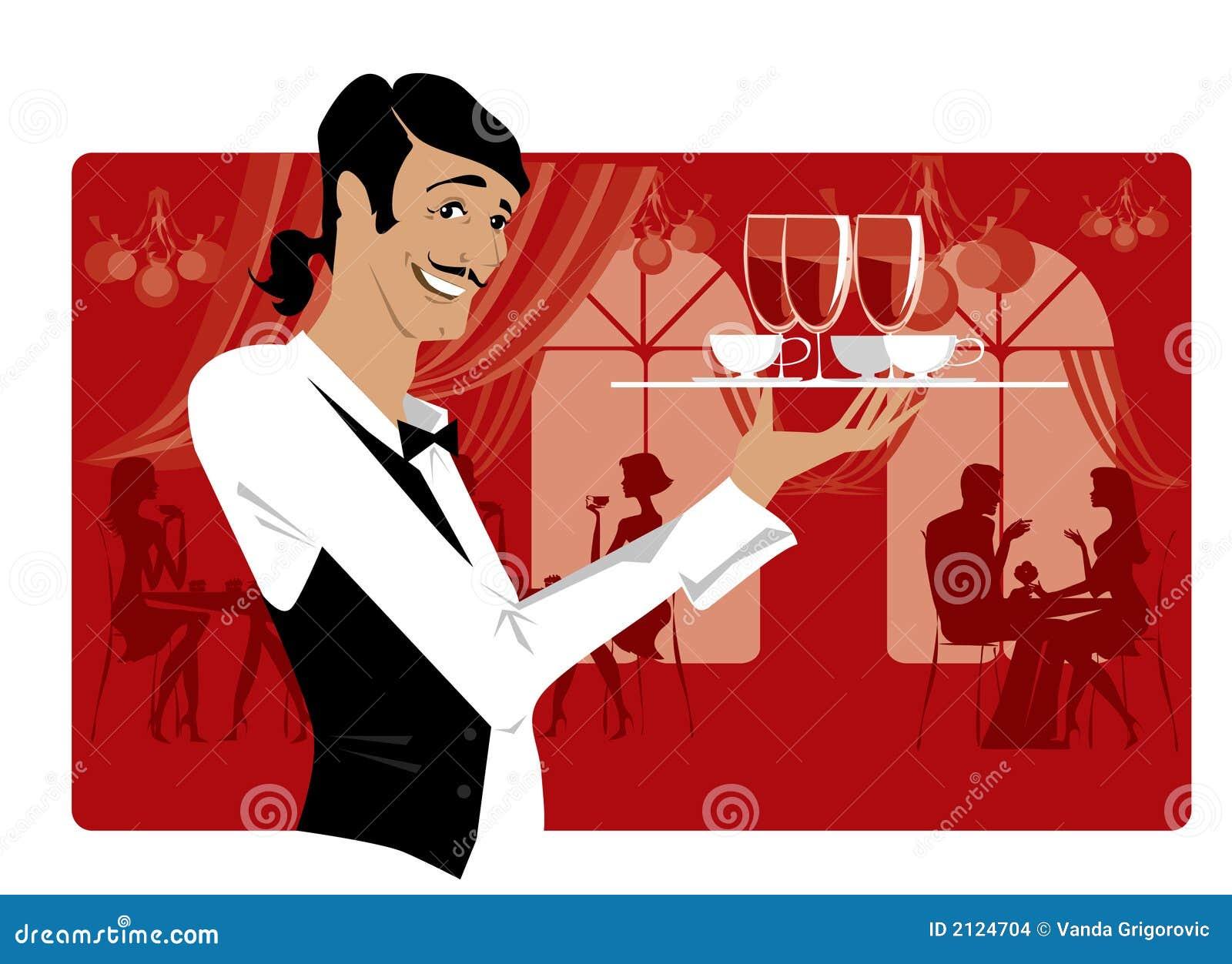 Kelner restauracji