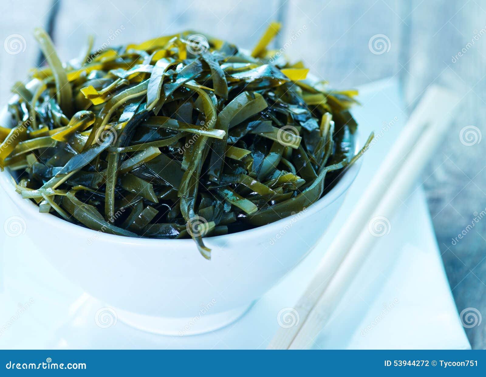 Kelp Salat Stockfoto Bild Von Cuisine Braun Gesund 53944272