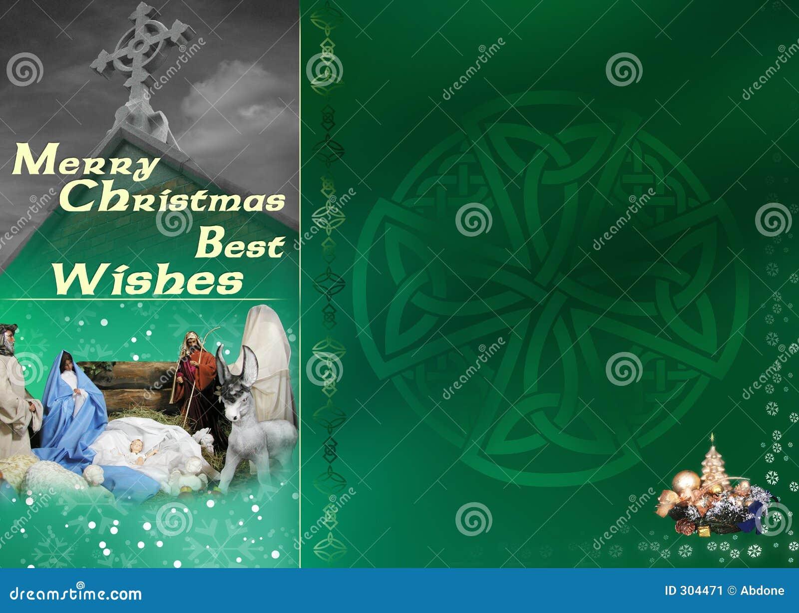 Keltische Kerstkaart