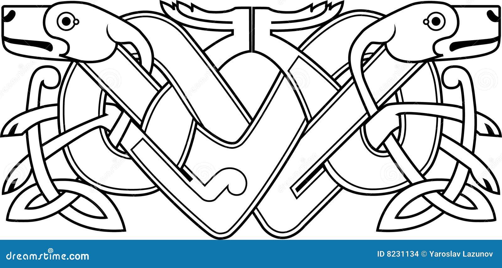 Großzügig Keltische Knoten Malvorlagen Zum Ausdrucken Bilder ...