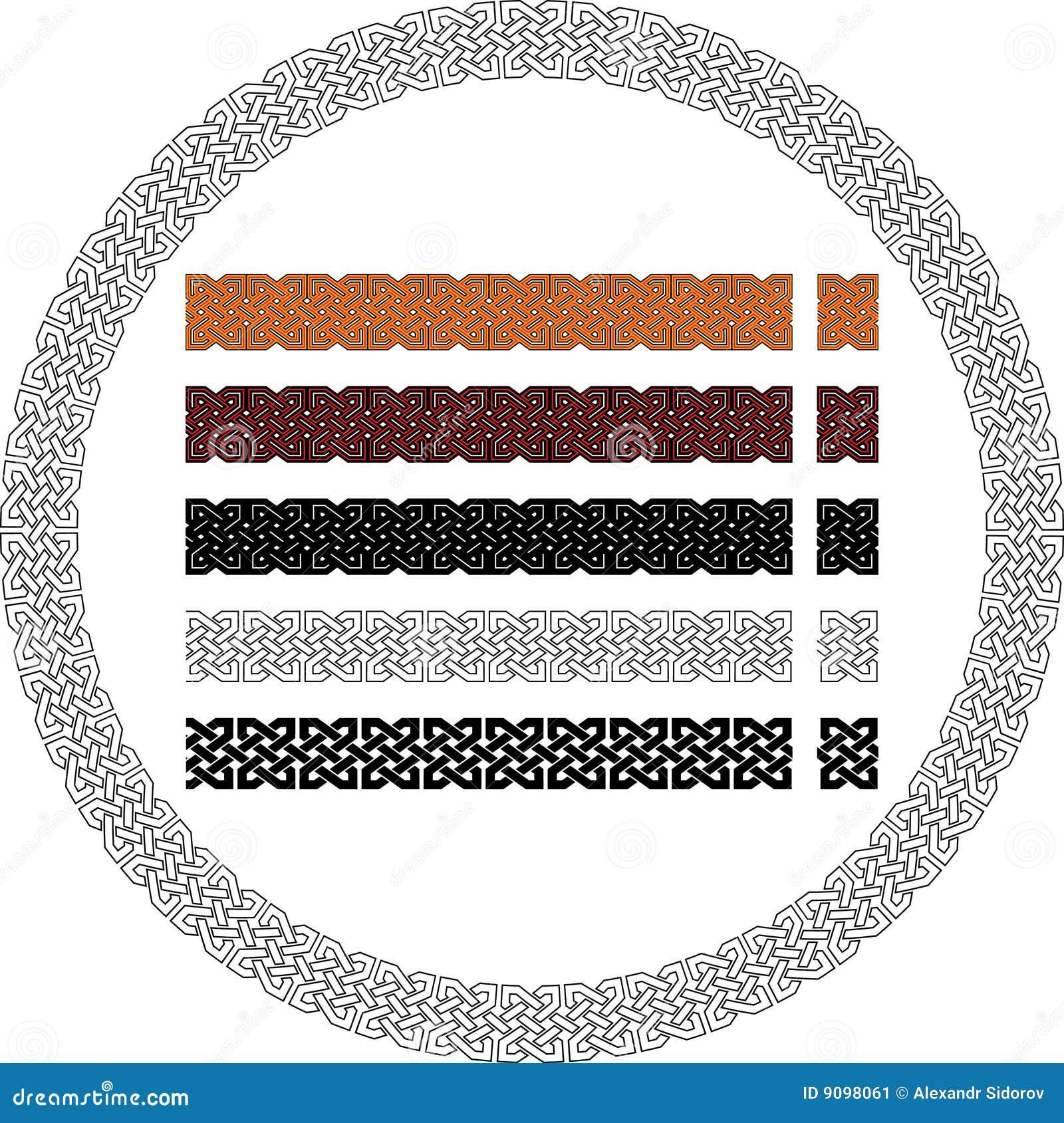 Keltisches Muster