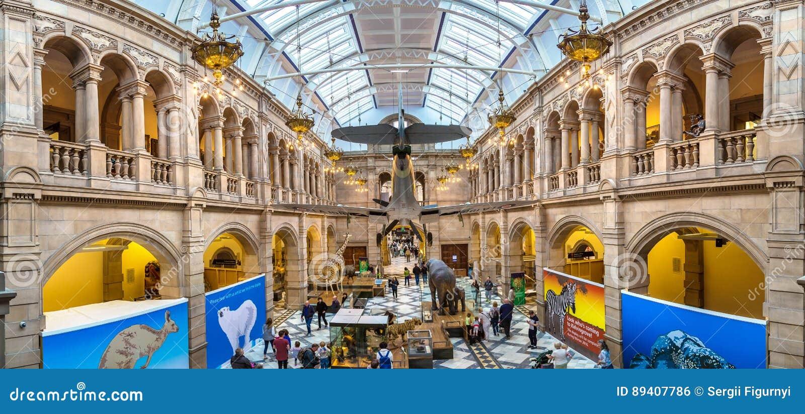 Kelvingrove Art Gallery e museu em Glasgow