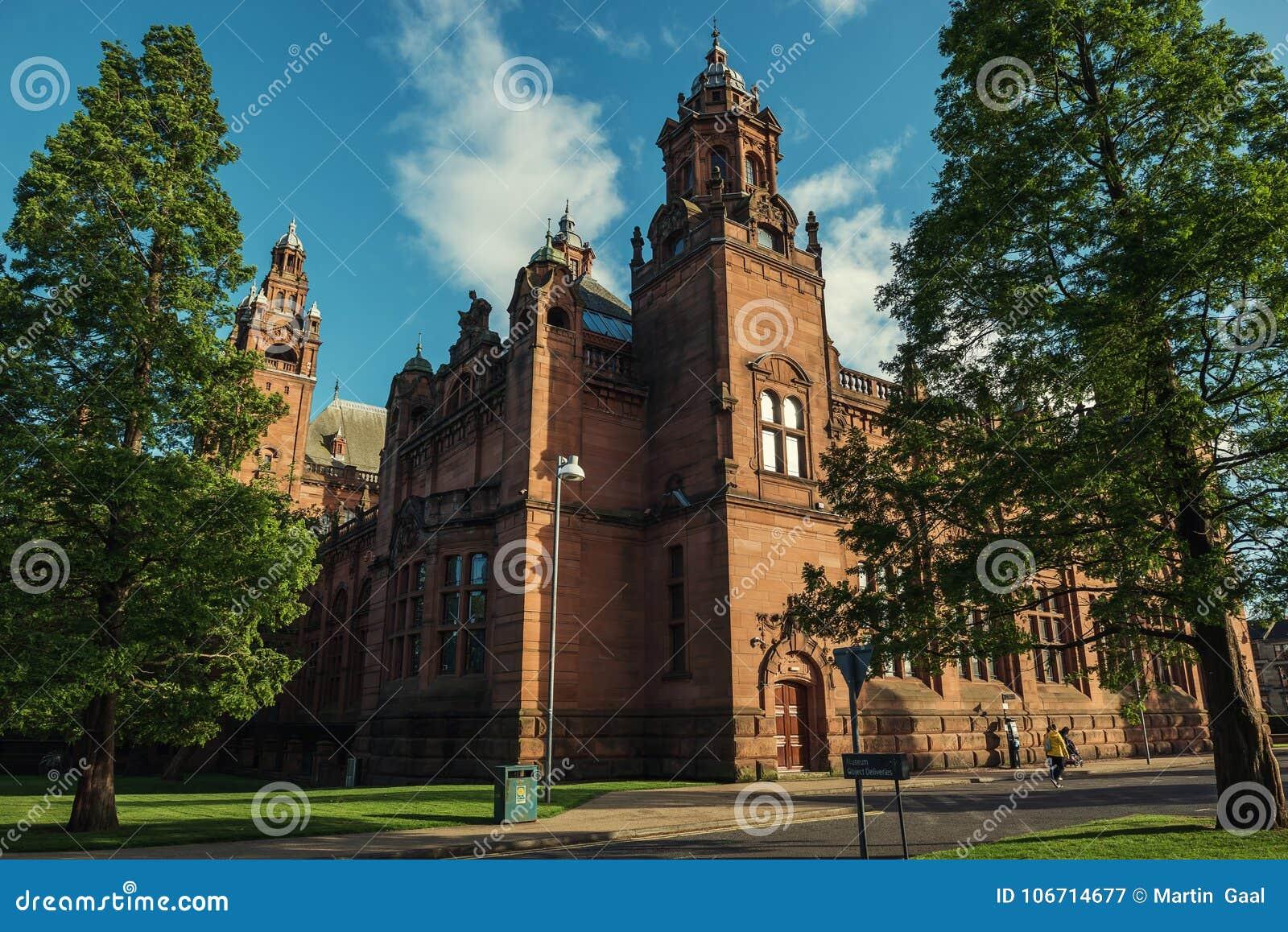 Kelvingrove Art Gallery et musée, Glasgow, R-U