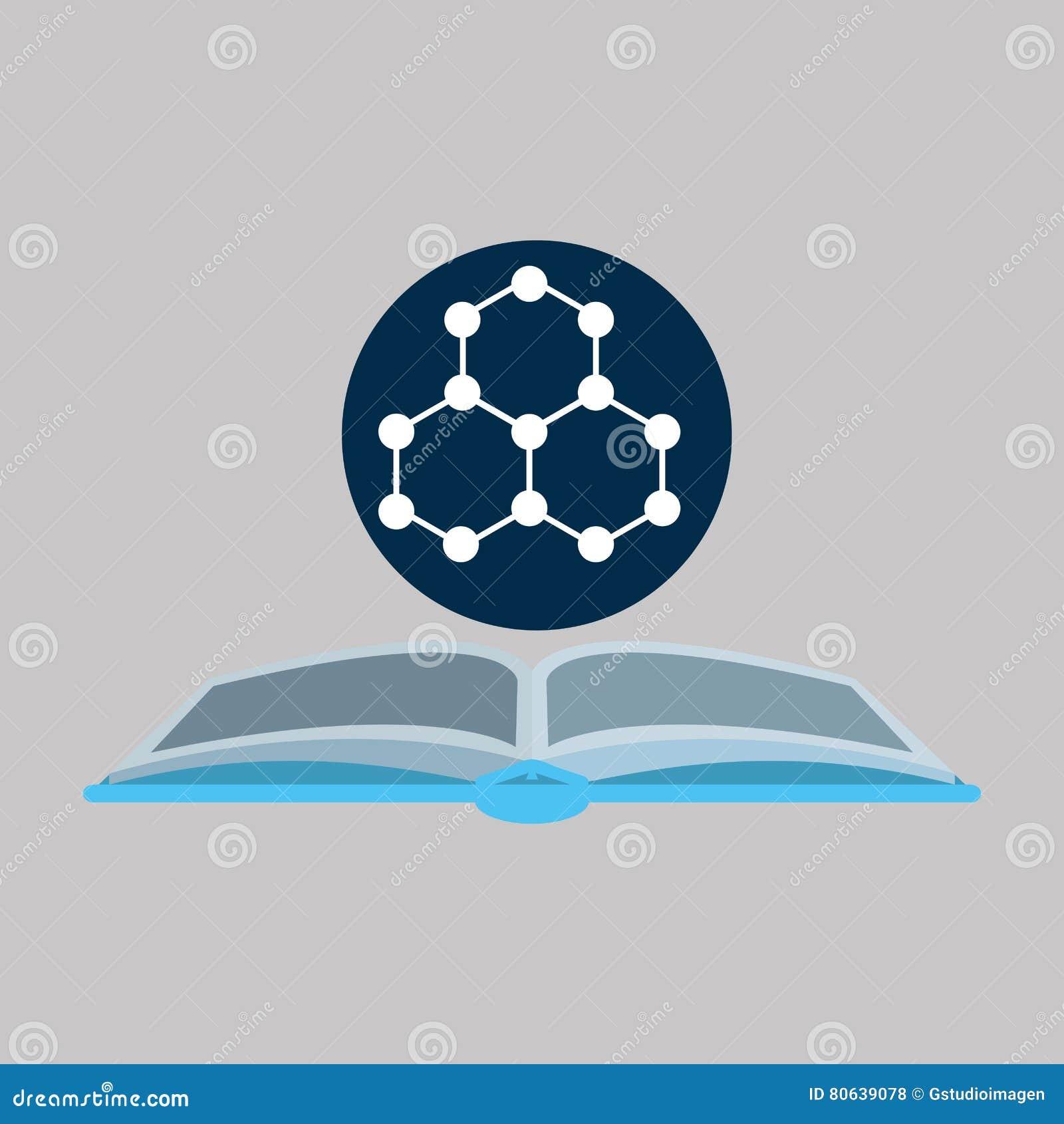 Kemikalie med molekylstruktursymbolen