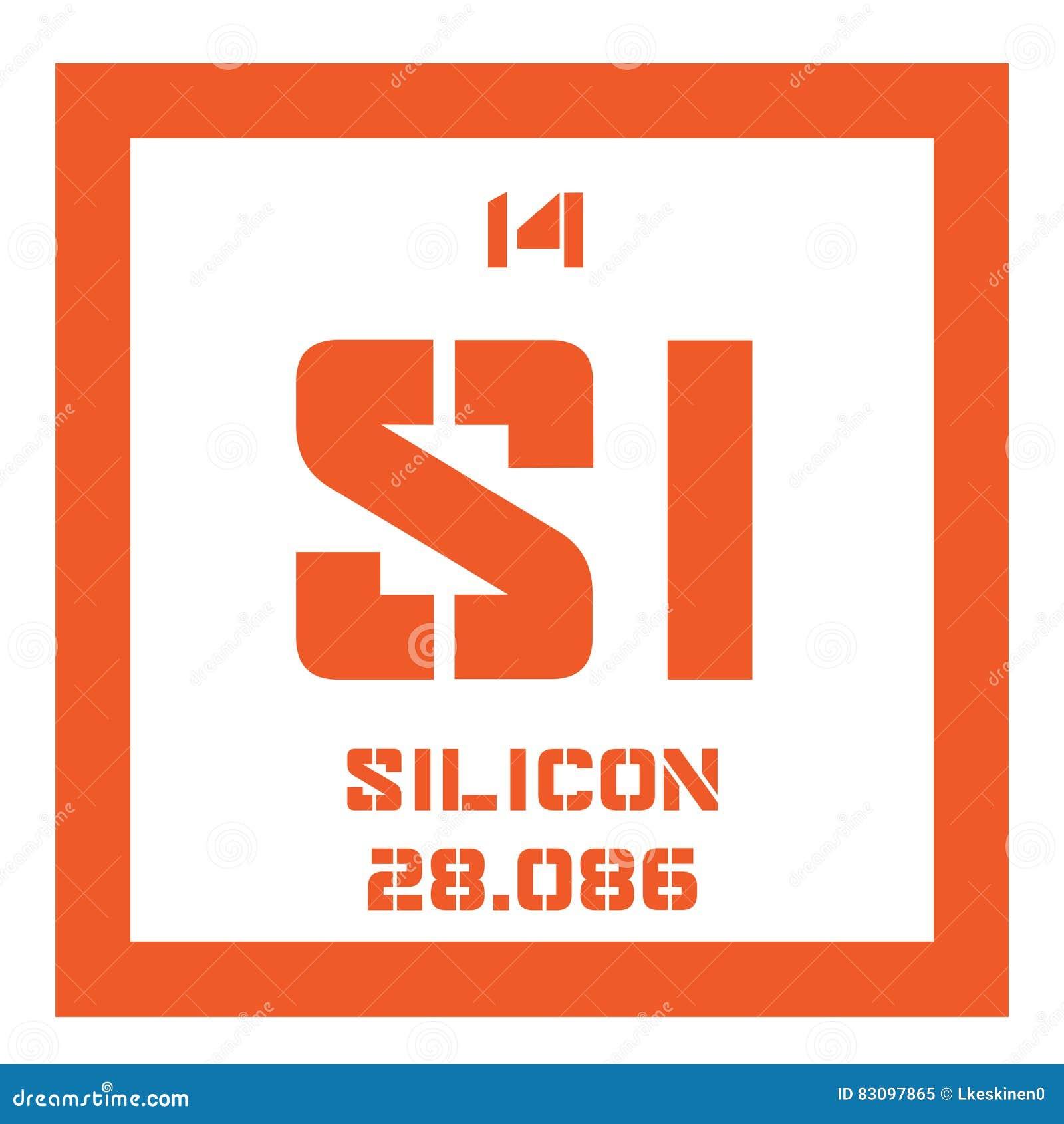 Kemisk beståndsdel för silikoner