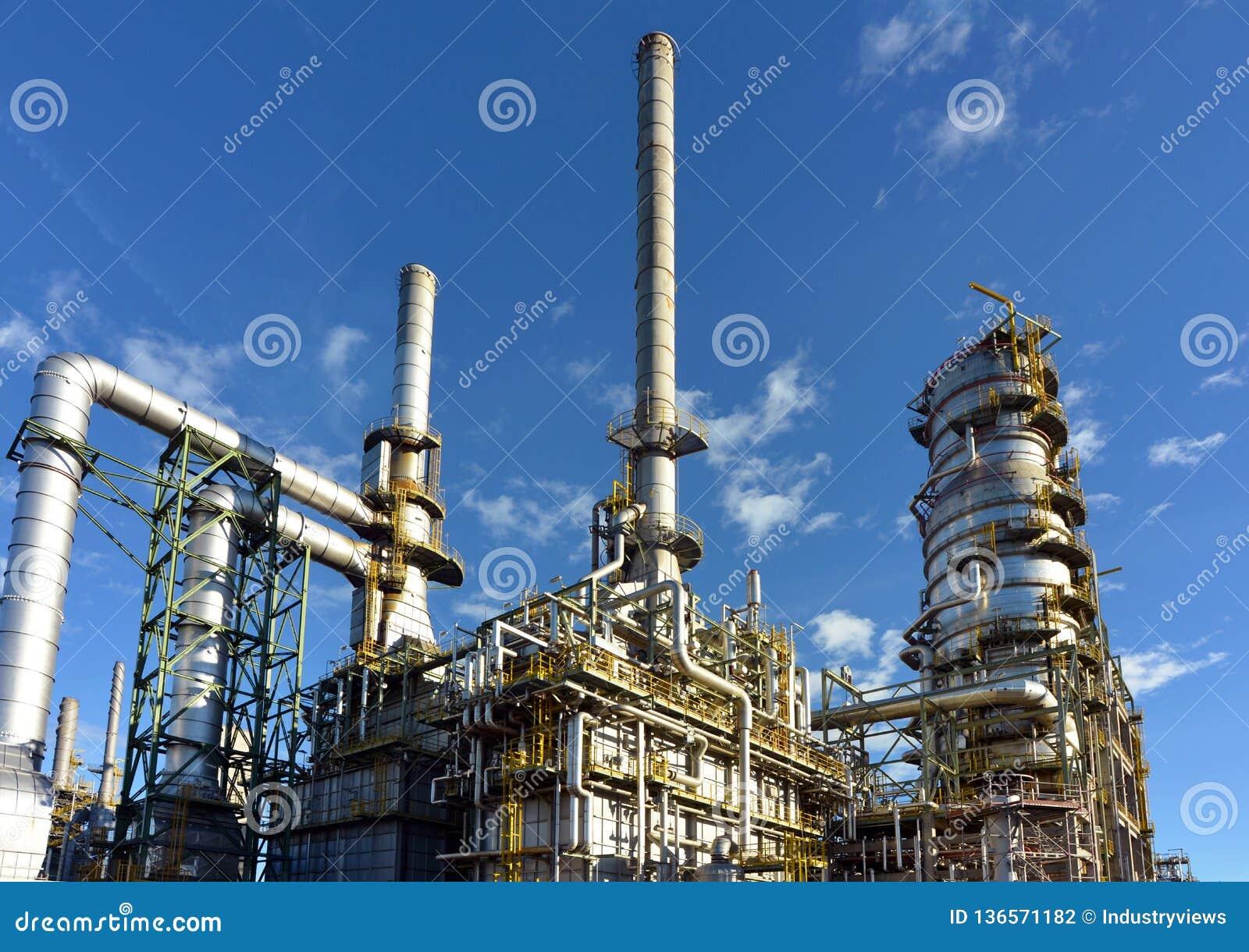 Kemisk bransch - raffinaderi som för tillverkning av bygger bränslen