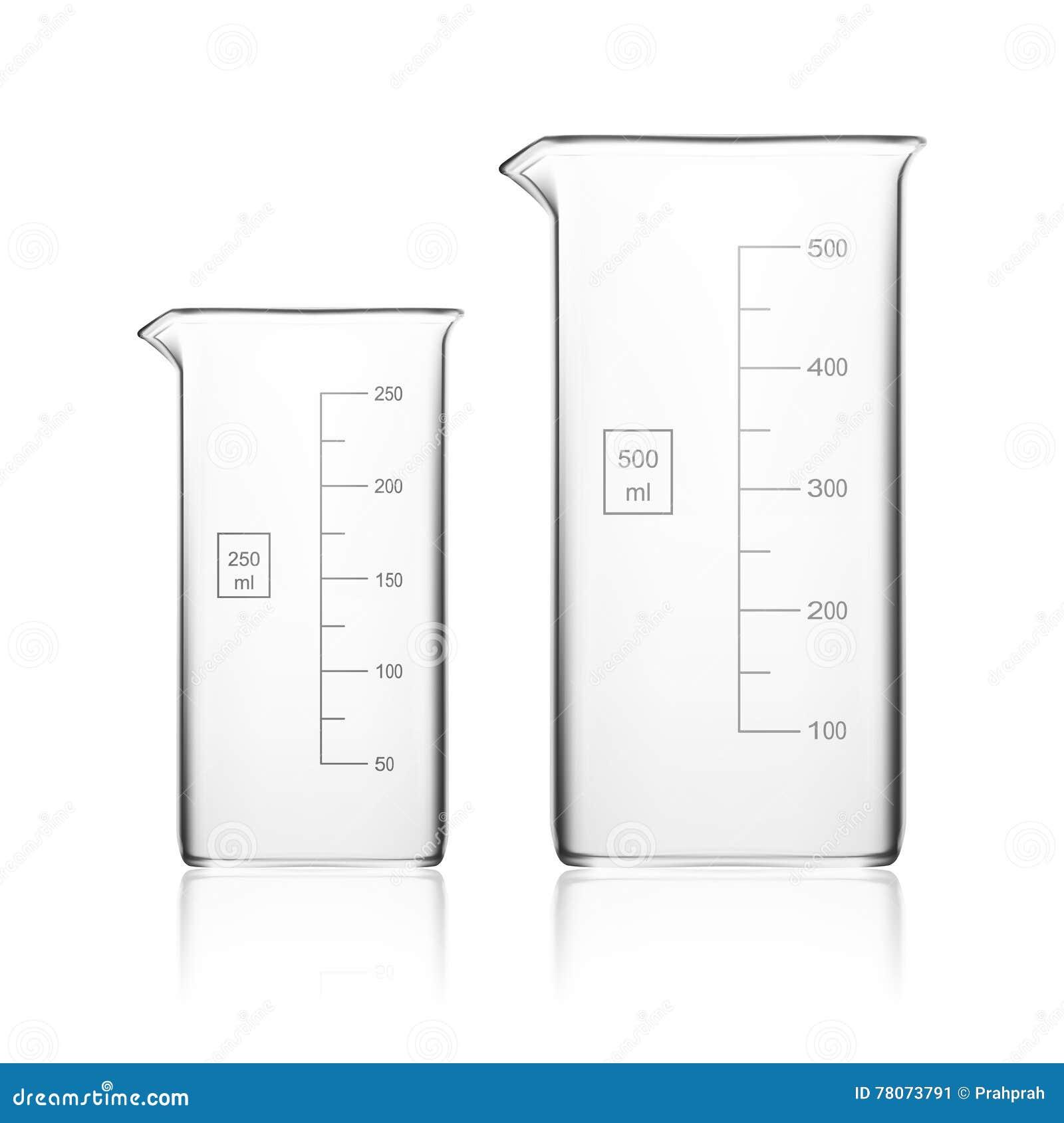 Kemisk laboratoriumglasföremål eller dryckeskärl Tom klar provrör för Glass utrustning