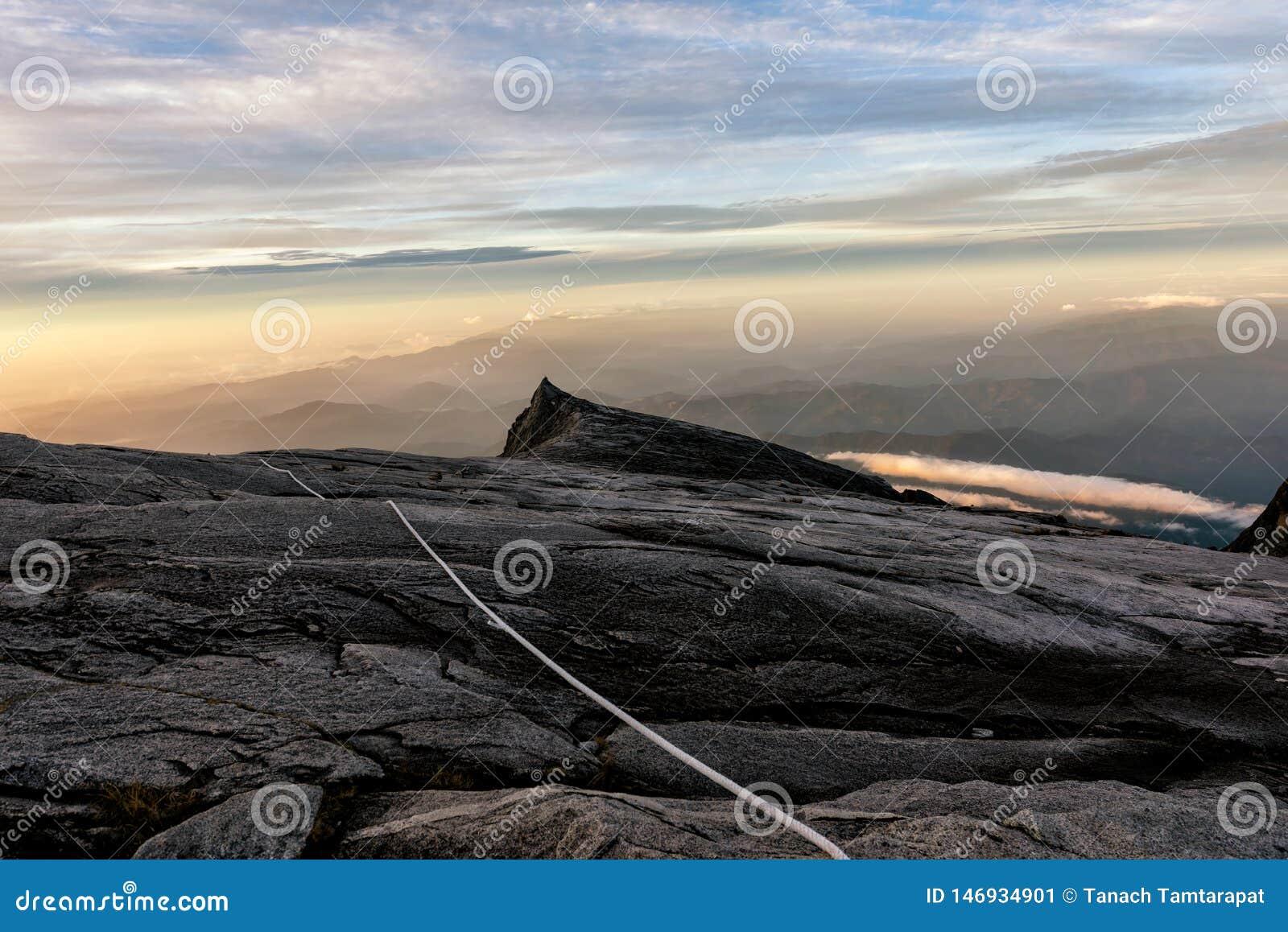 Kenabalu Peak in Malaysia
