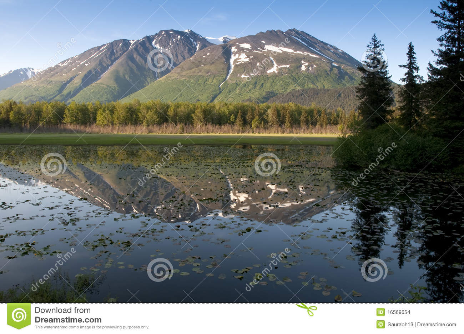 Kenai Peninsula in Alaska