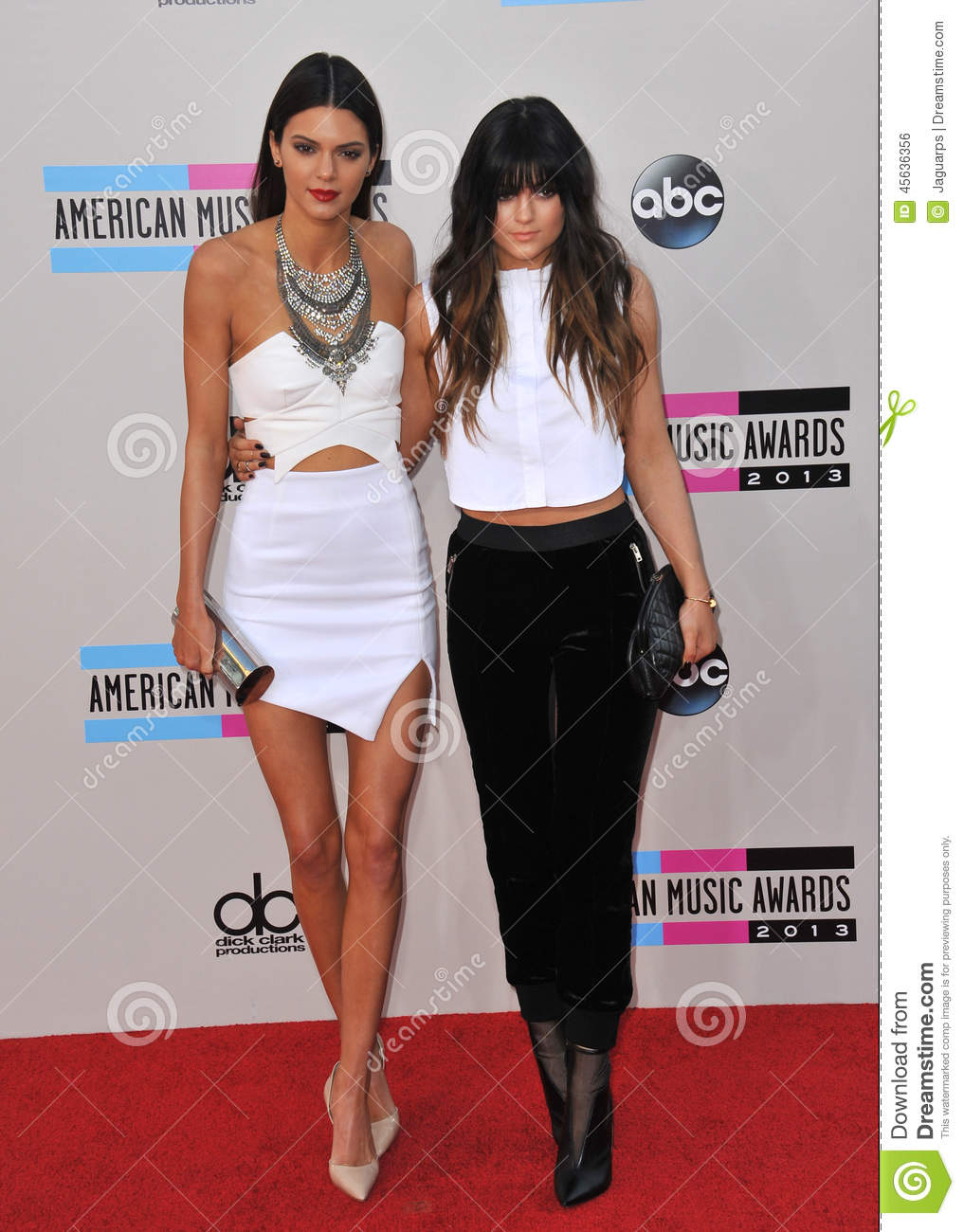 Kendall Jenner Amp Kylie Jenner Editorial Photo Image Of