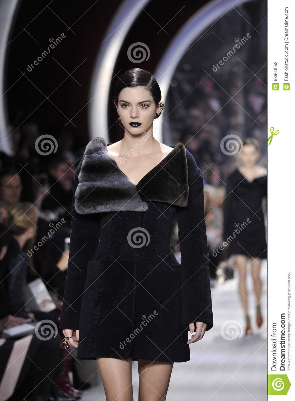 Kendall Jenner Walks The Runway During The Christian Dior Show