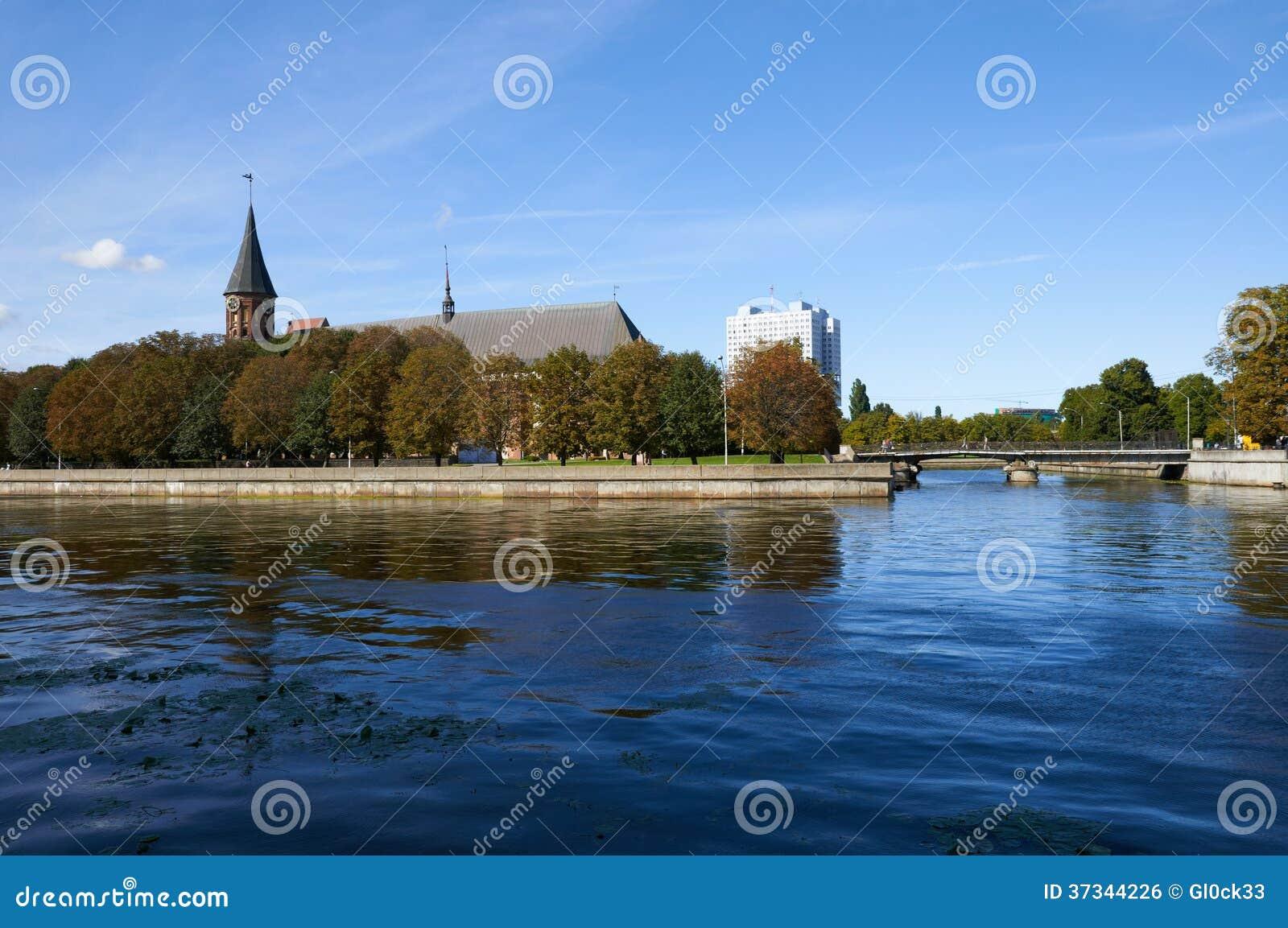 Kenigsbergkathedraal. Kaliningrad. Rusland