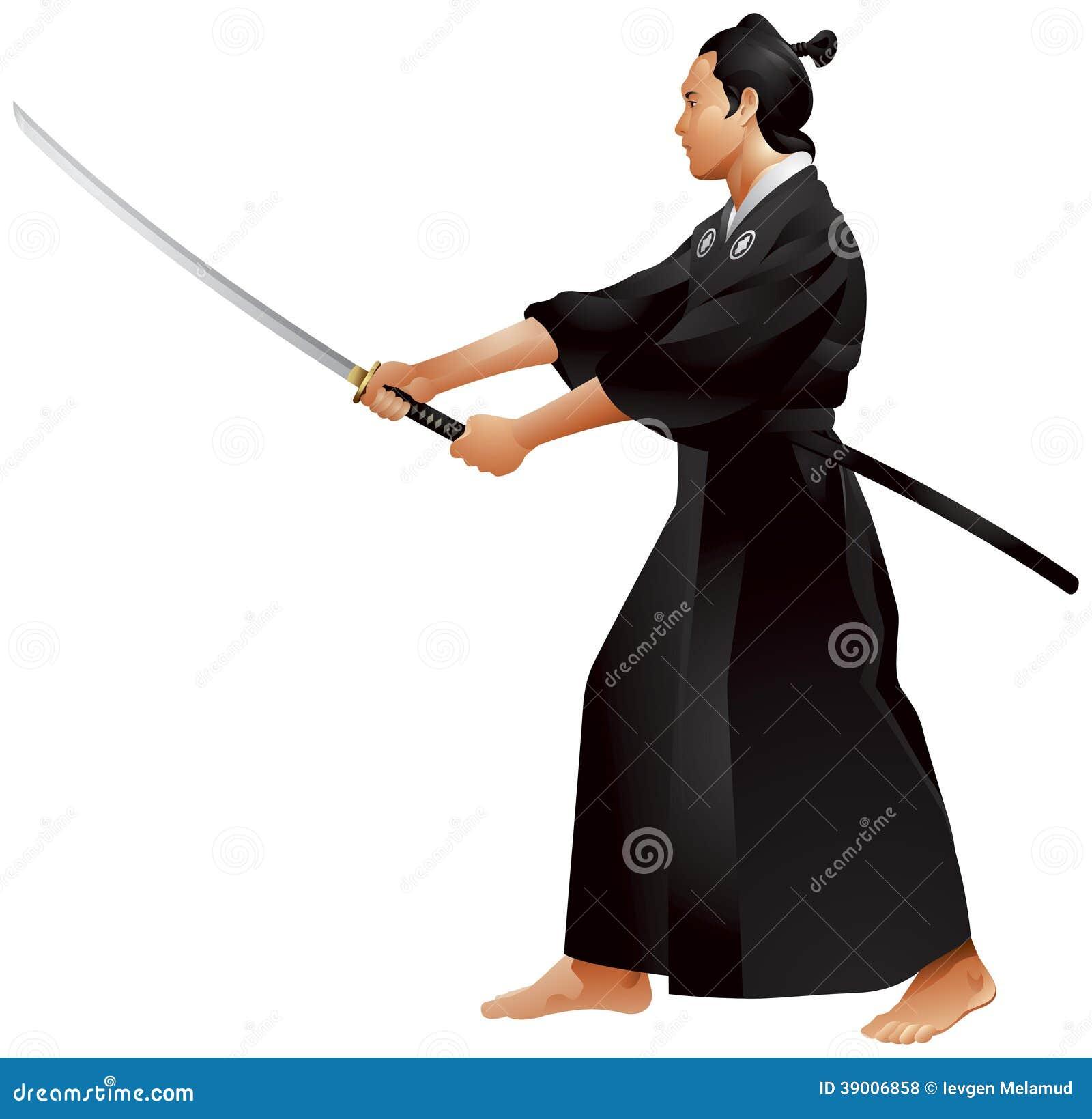 Two Samurai Stance Sword 0