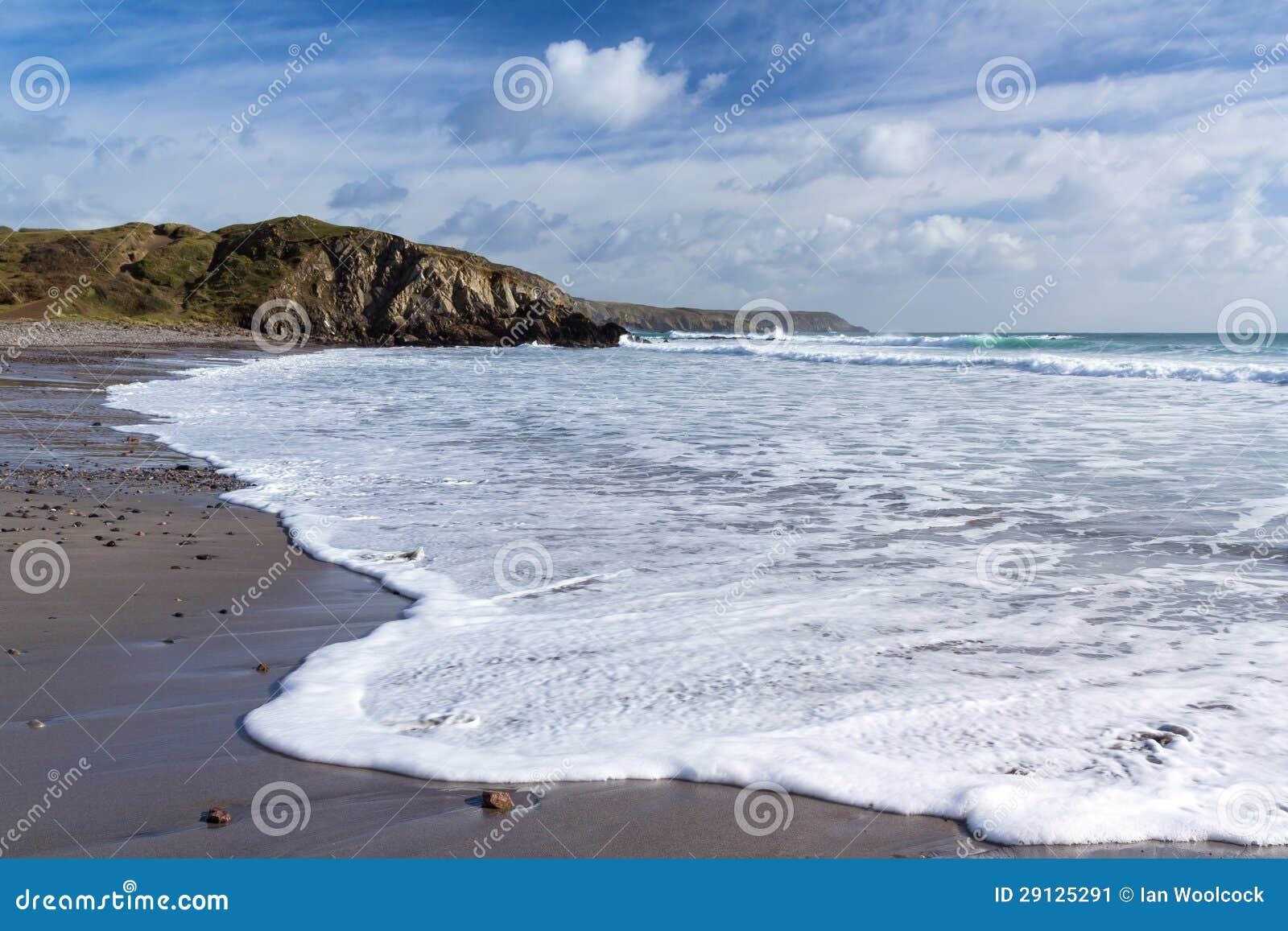 Kennack piaski Cornwall