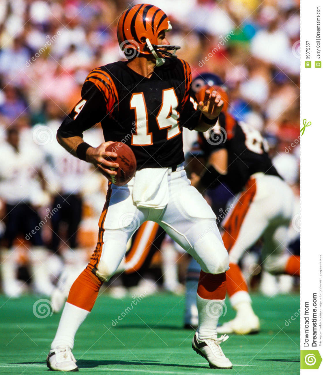 Kenny Anderson Cincinnati Bengals Editorial graphy Image