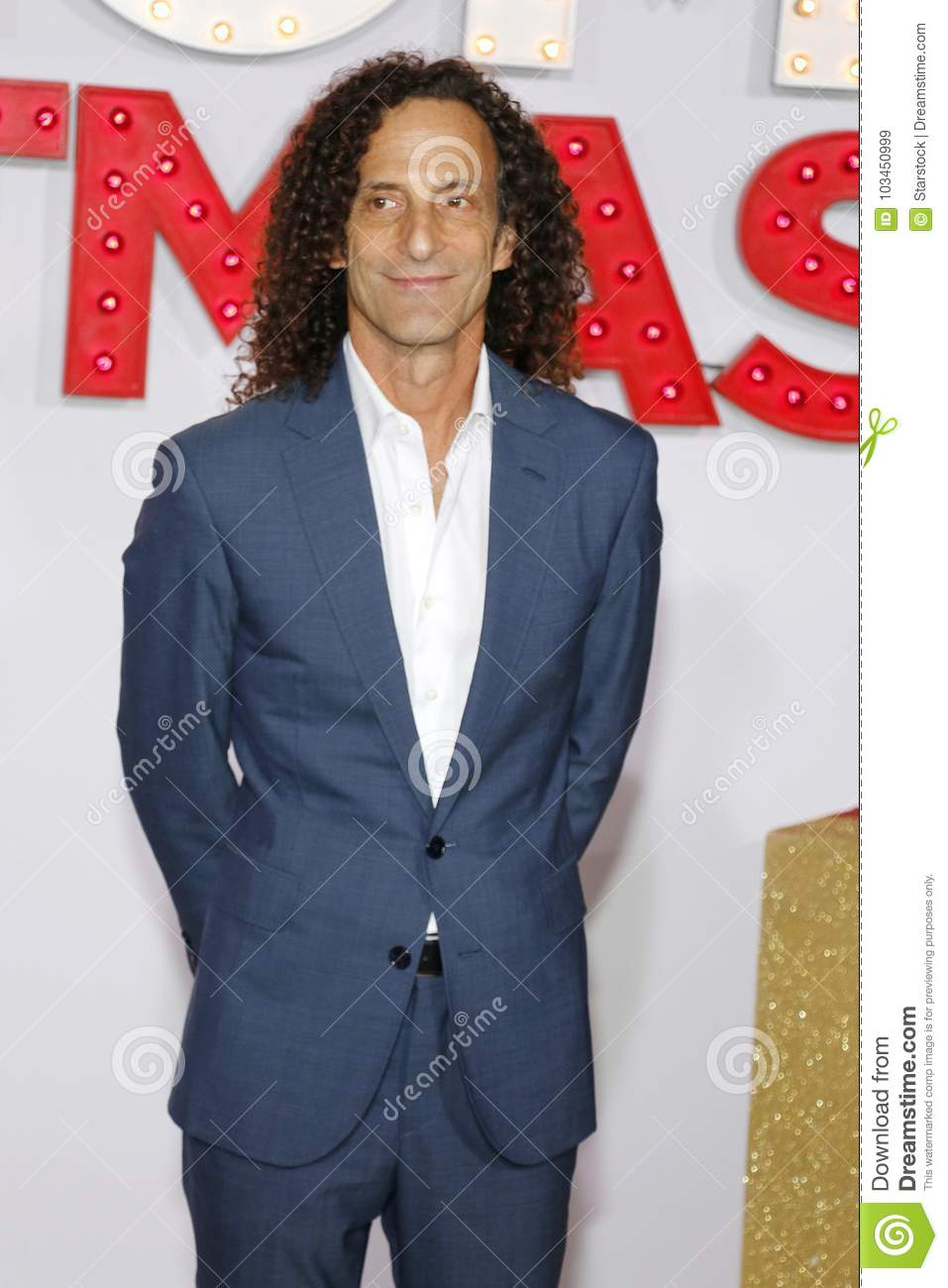 Kenny G Christmas.Kenny G Editorial Stock Image Image Of Held Modine 103450999