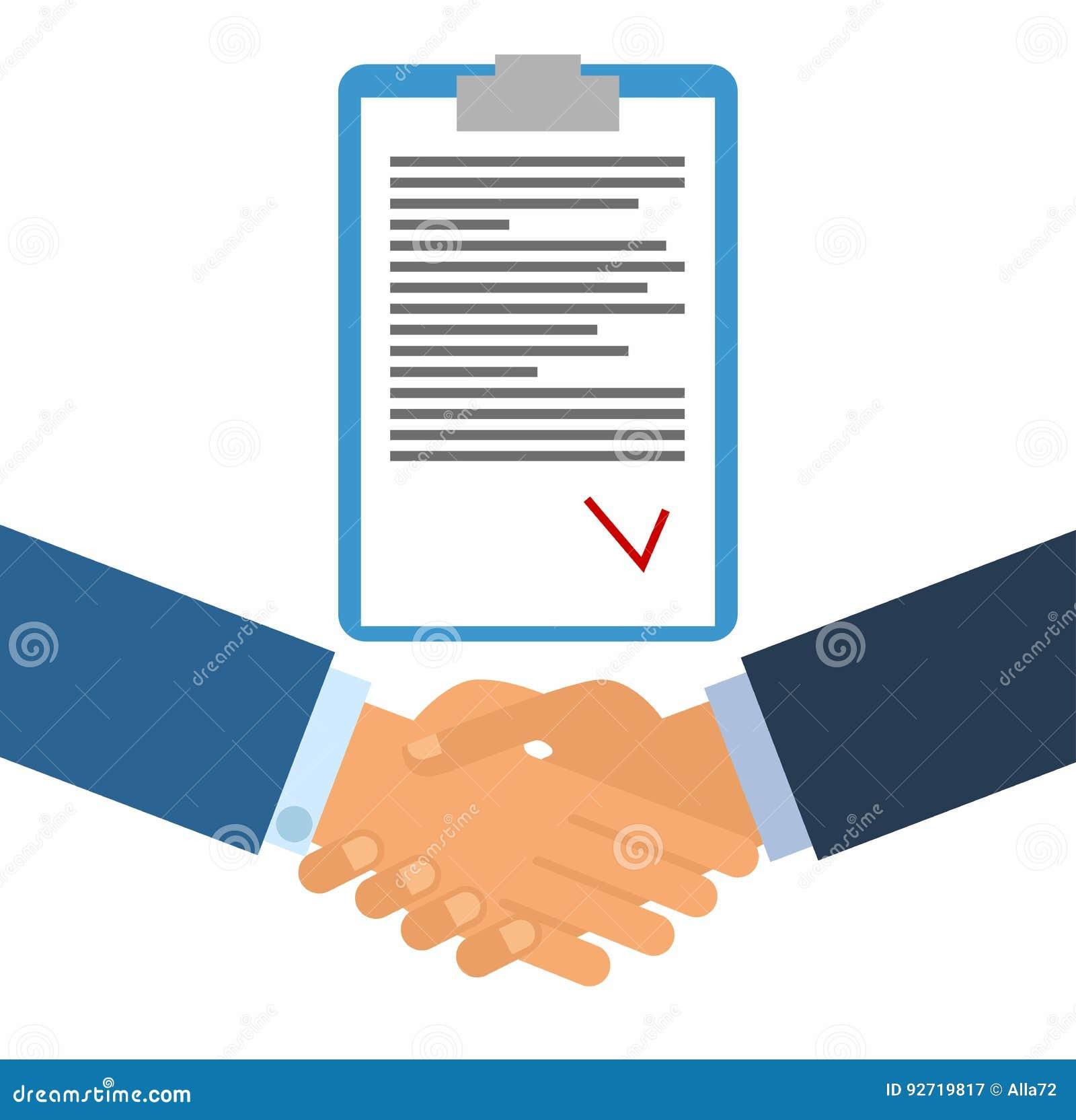 Kennzeichnen eines Vertrages Geschäftshändedruck für Abkommen und Teamwork-Konzept die internationale Zusammenarbeit