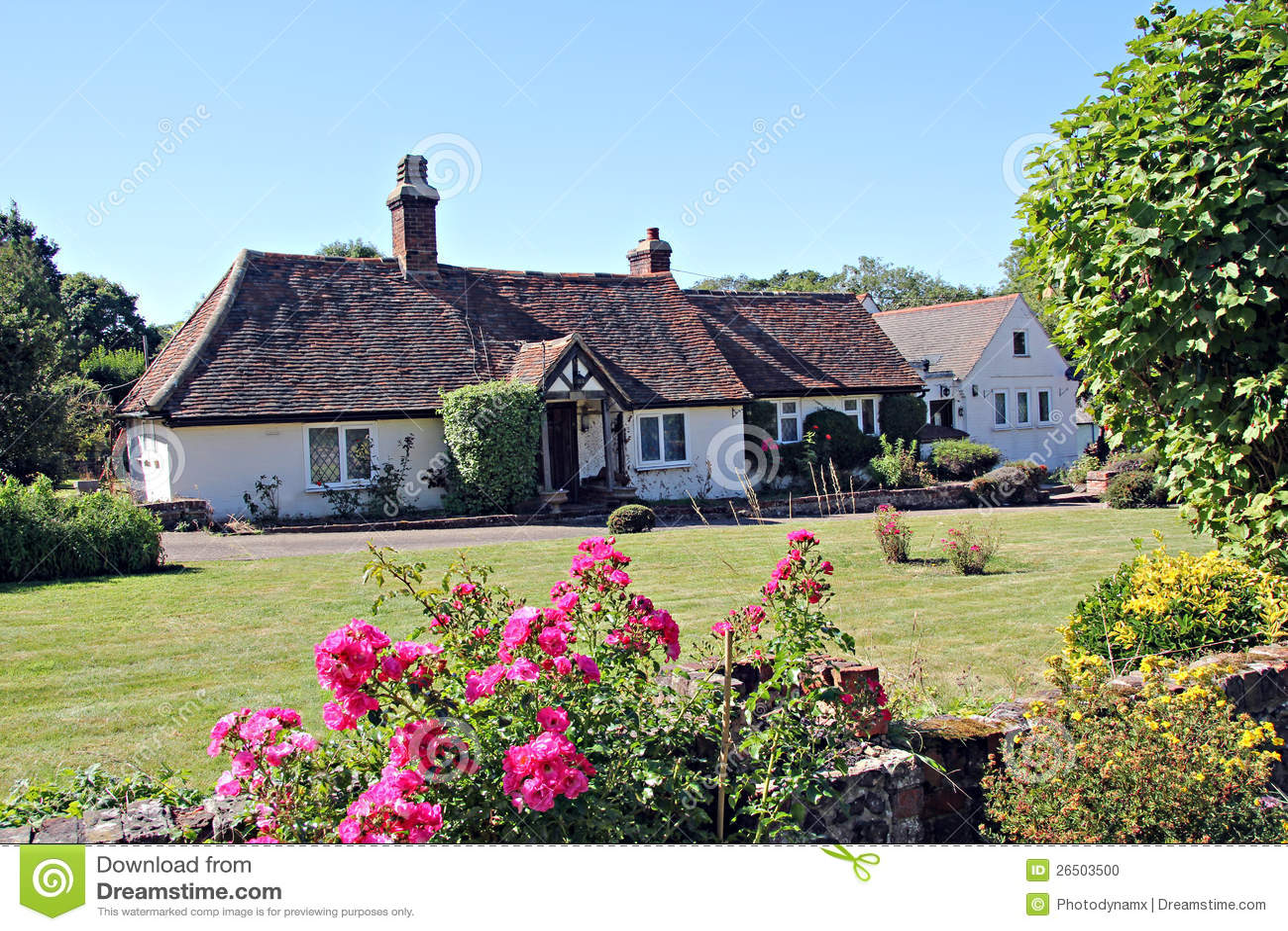 Kent Country Farmhouse Stock Photo Image 26503500
