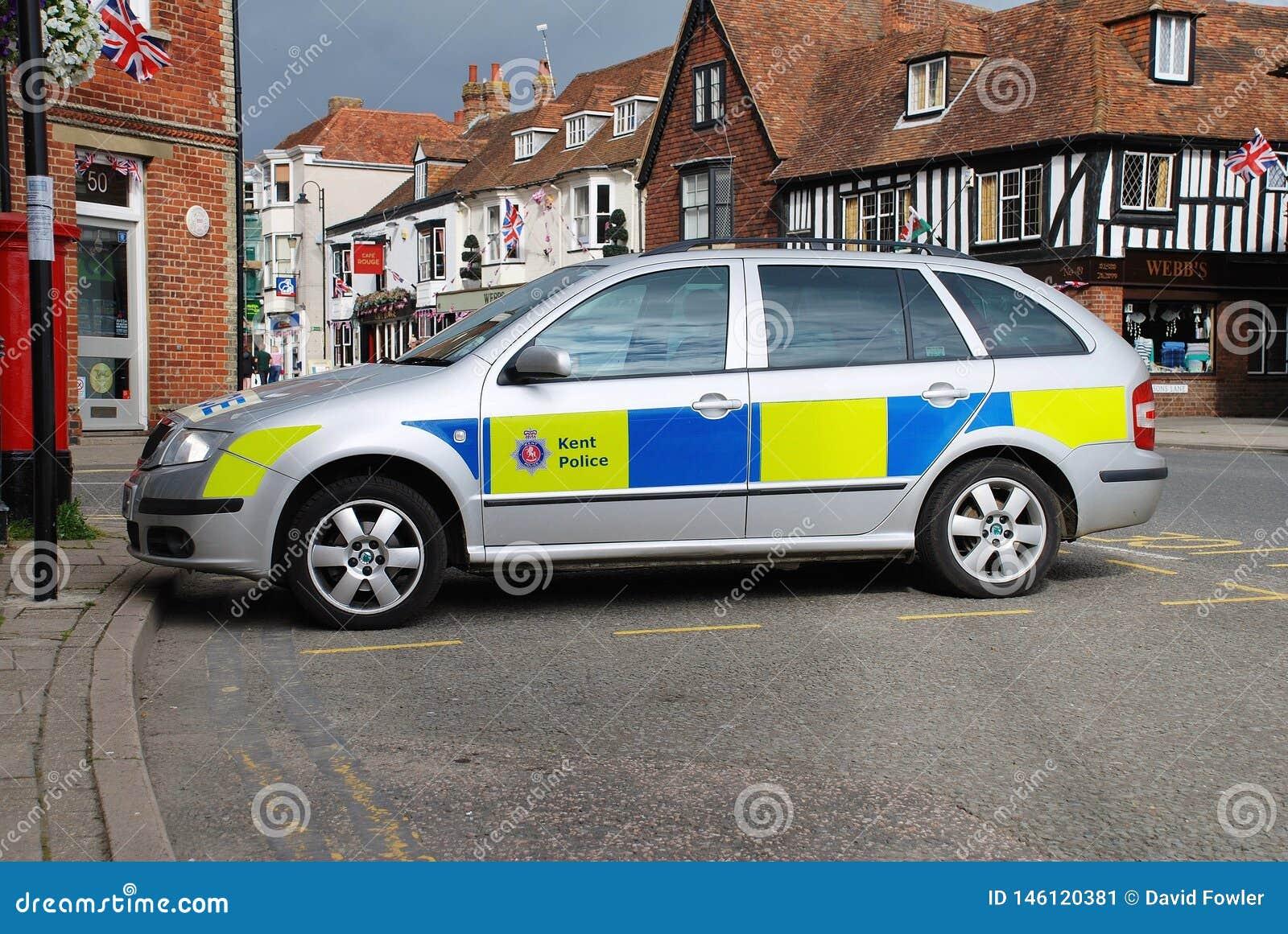Kent policji radiowóz, Tenterden