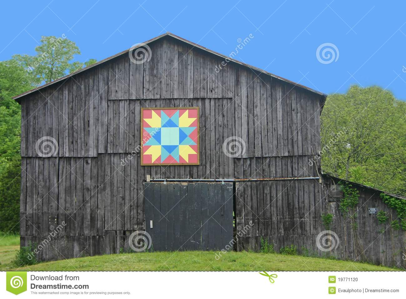 Kentucky quilt barn stock photo image 19771120 for Garden shed quilting
