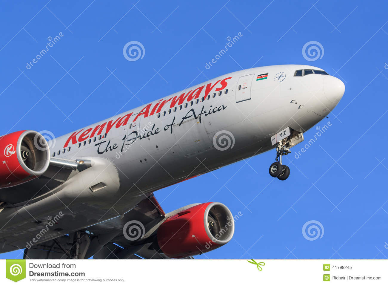 Kenya Airways jet