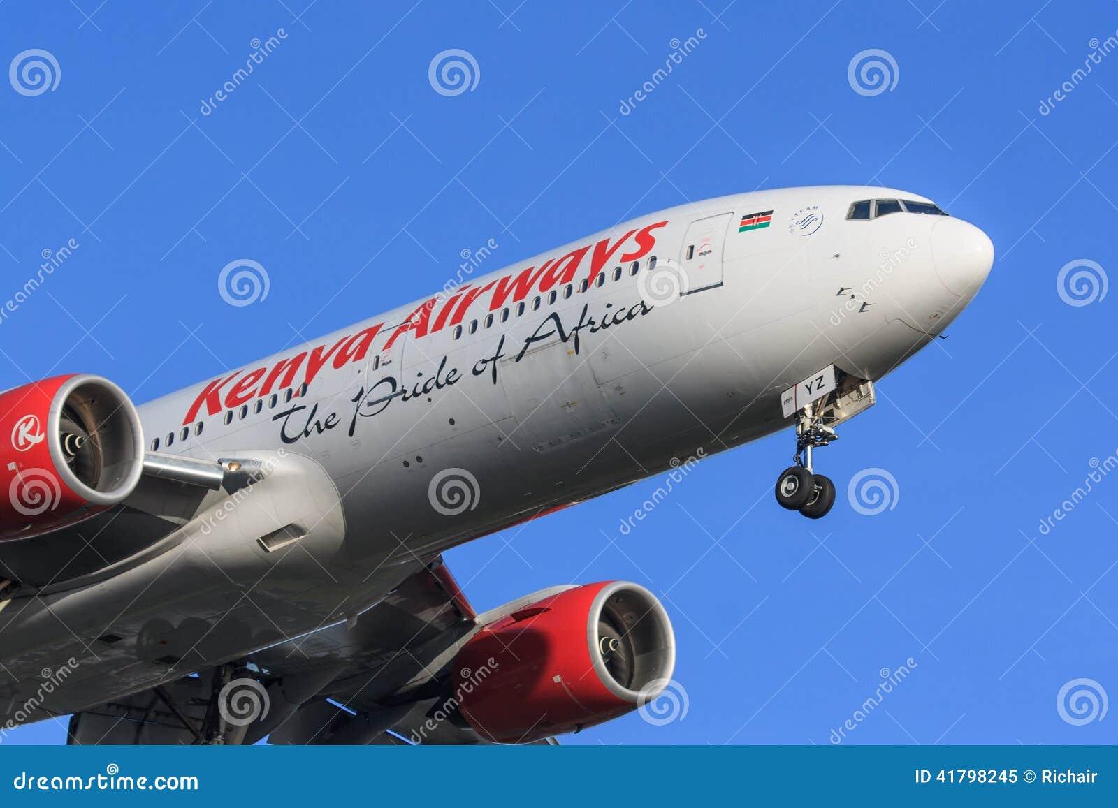 Kenya Airways sprutar ut