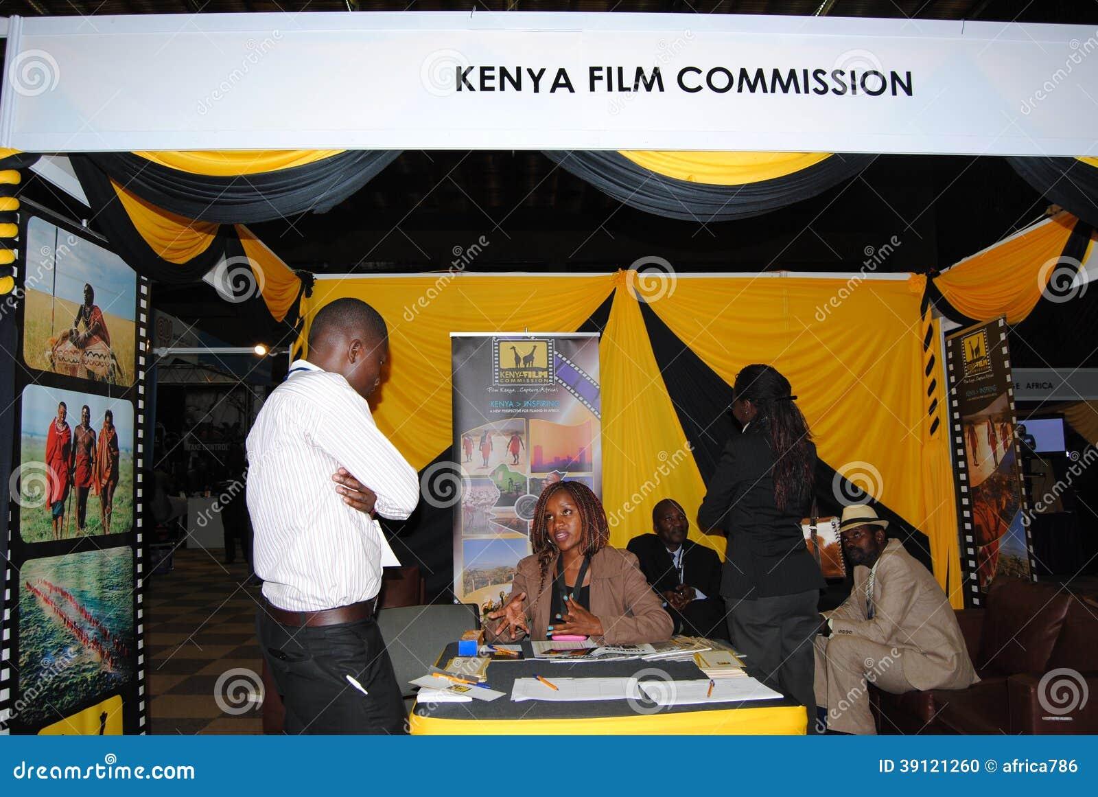 Kenya Exhibition Stand Builders : Kenya film commission in exhibtion nairobi editorial
